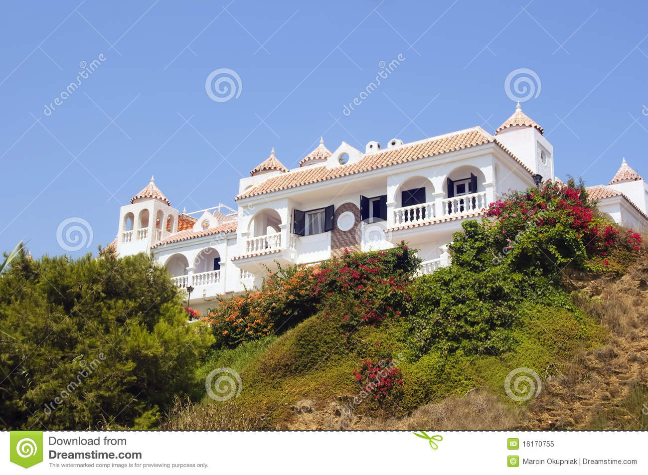 Andalusian home royalty free stock photo image 16170755 for Architecture andalouse