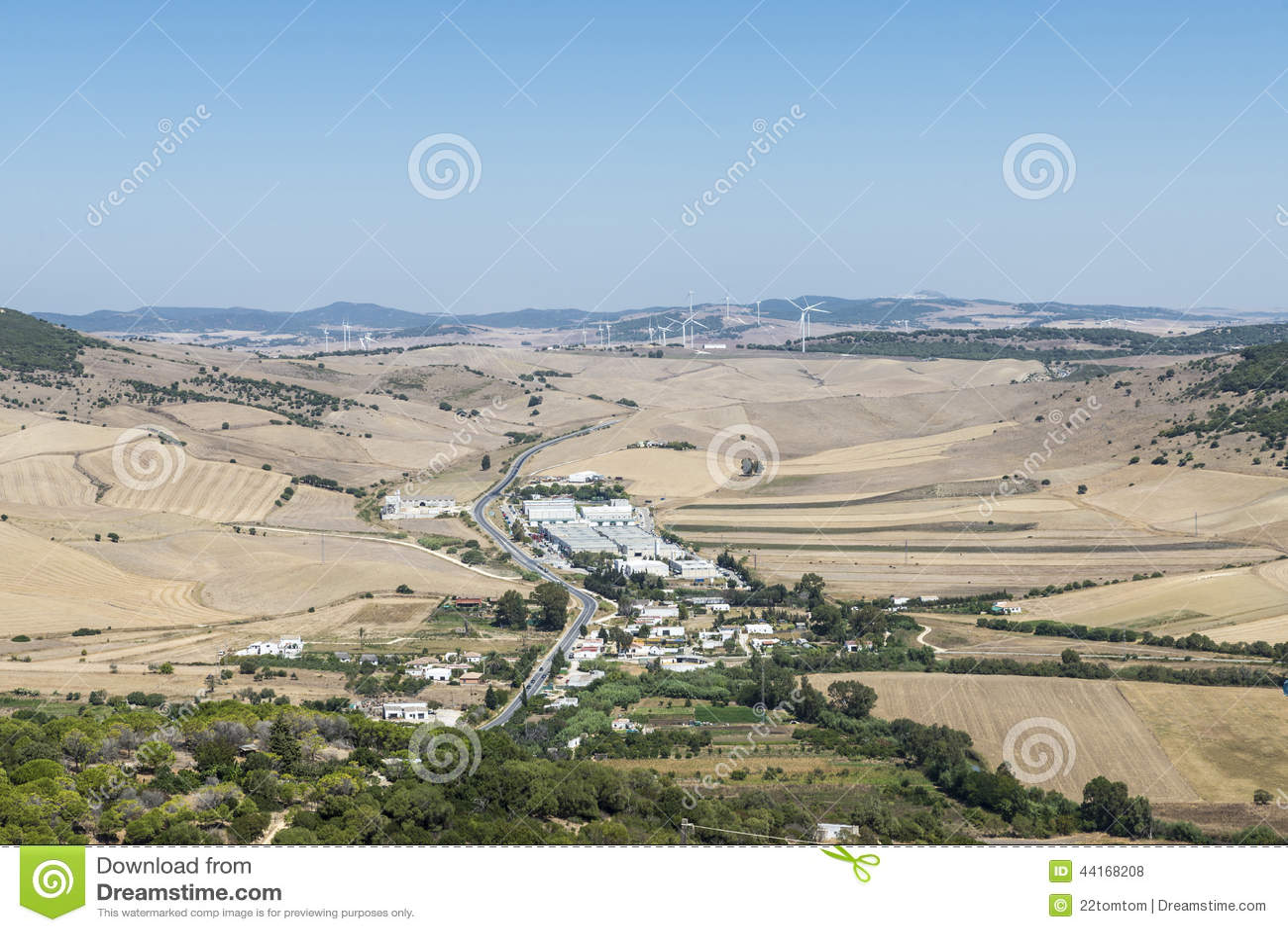 Andalusian landskap, Spanien