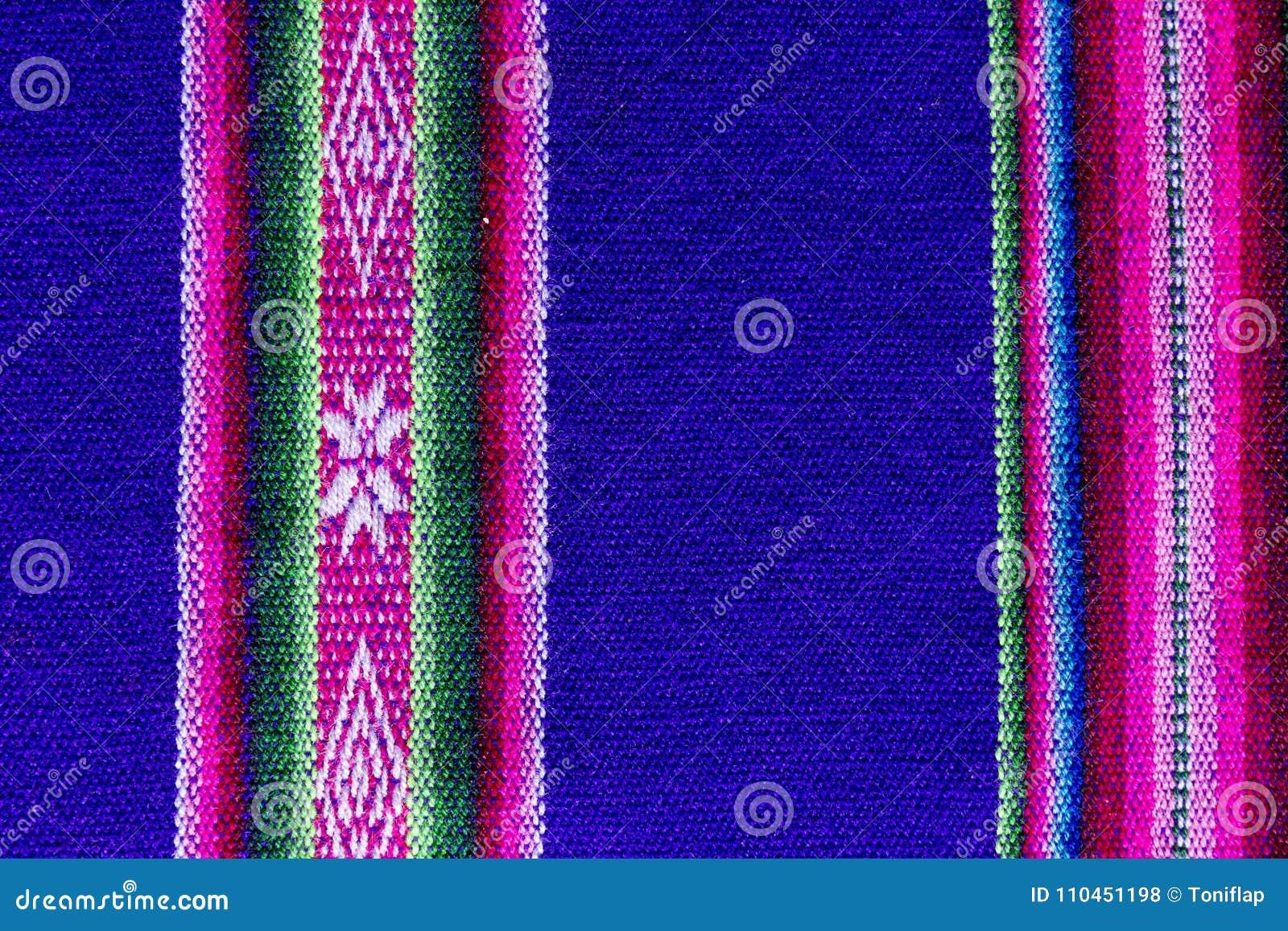 Andean textil i alpaca- och arkull