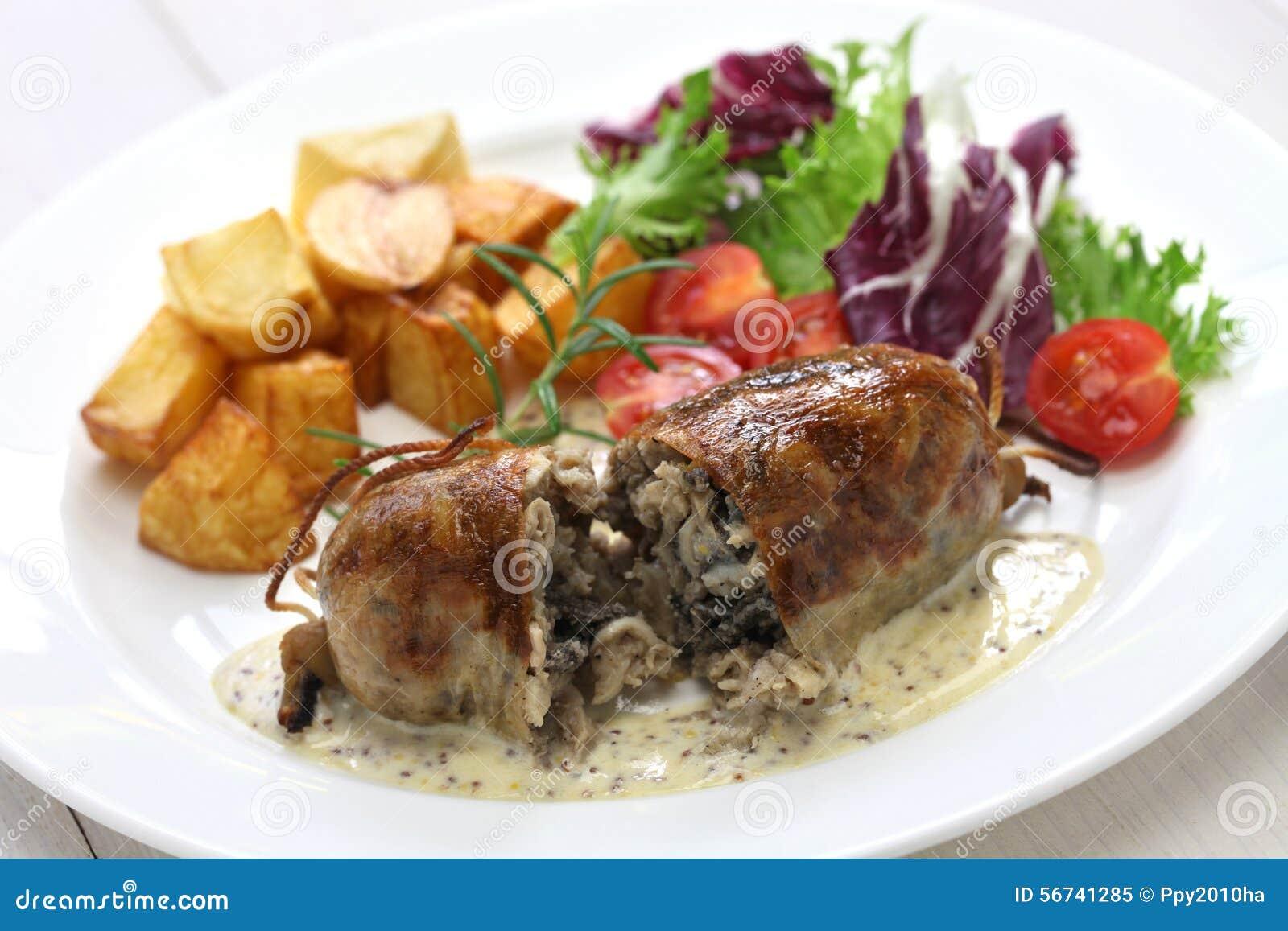 how to make sausage lyonnaise