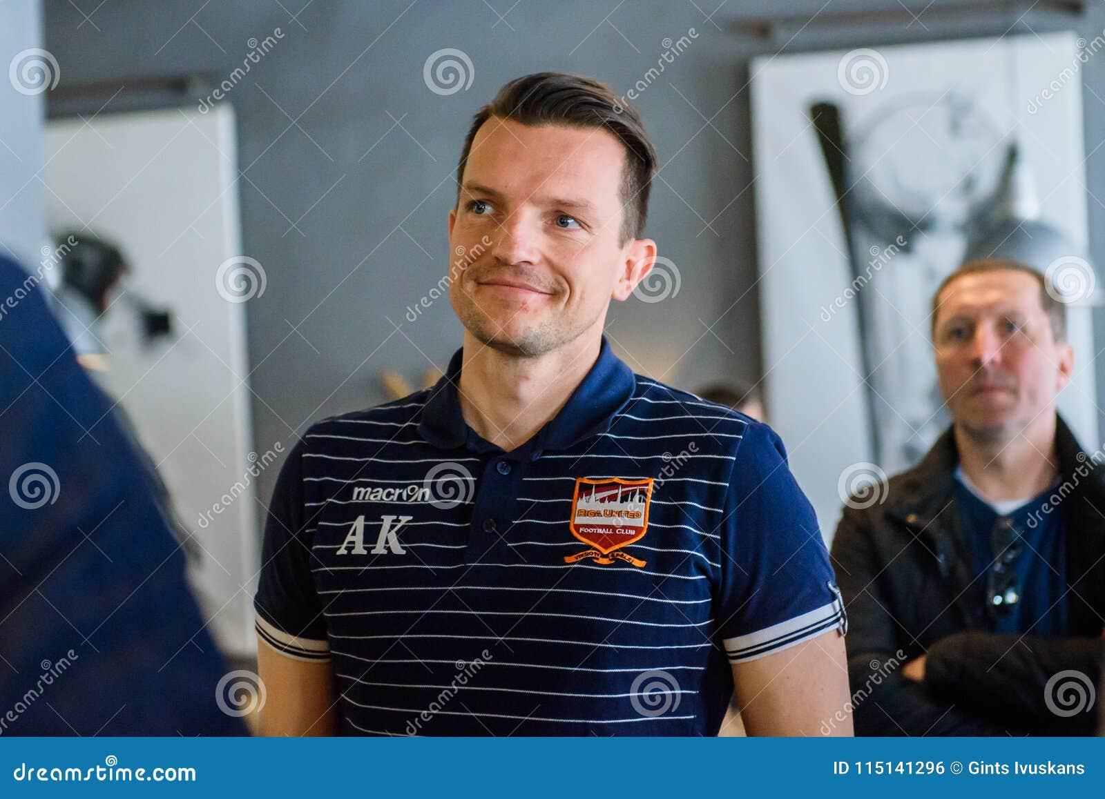 Andre Kliese, secretaria general de FC Riga unió
