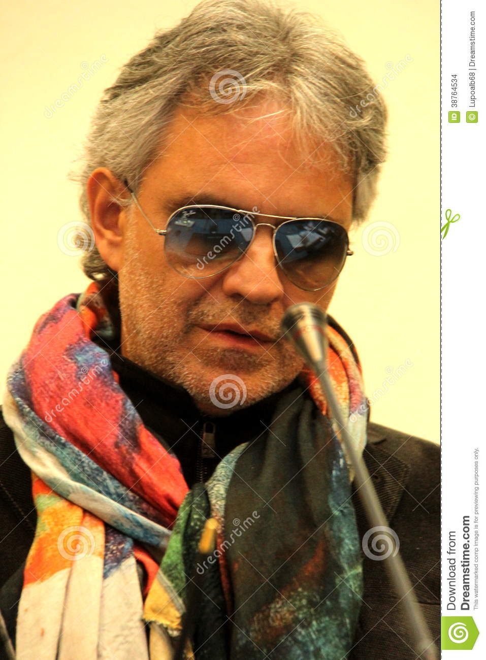 Italian Male Singers Ideal andrea bocelli editorial stock image. image of 2014, fireze - 38764534