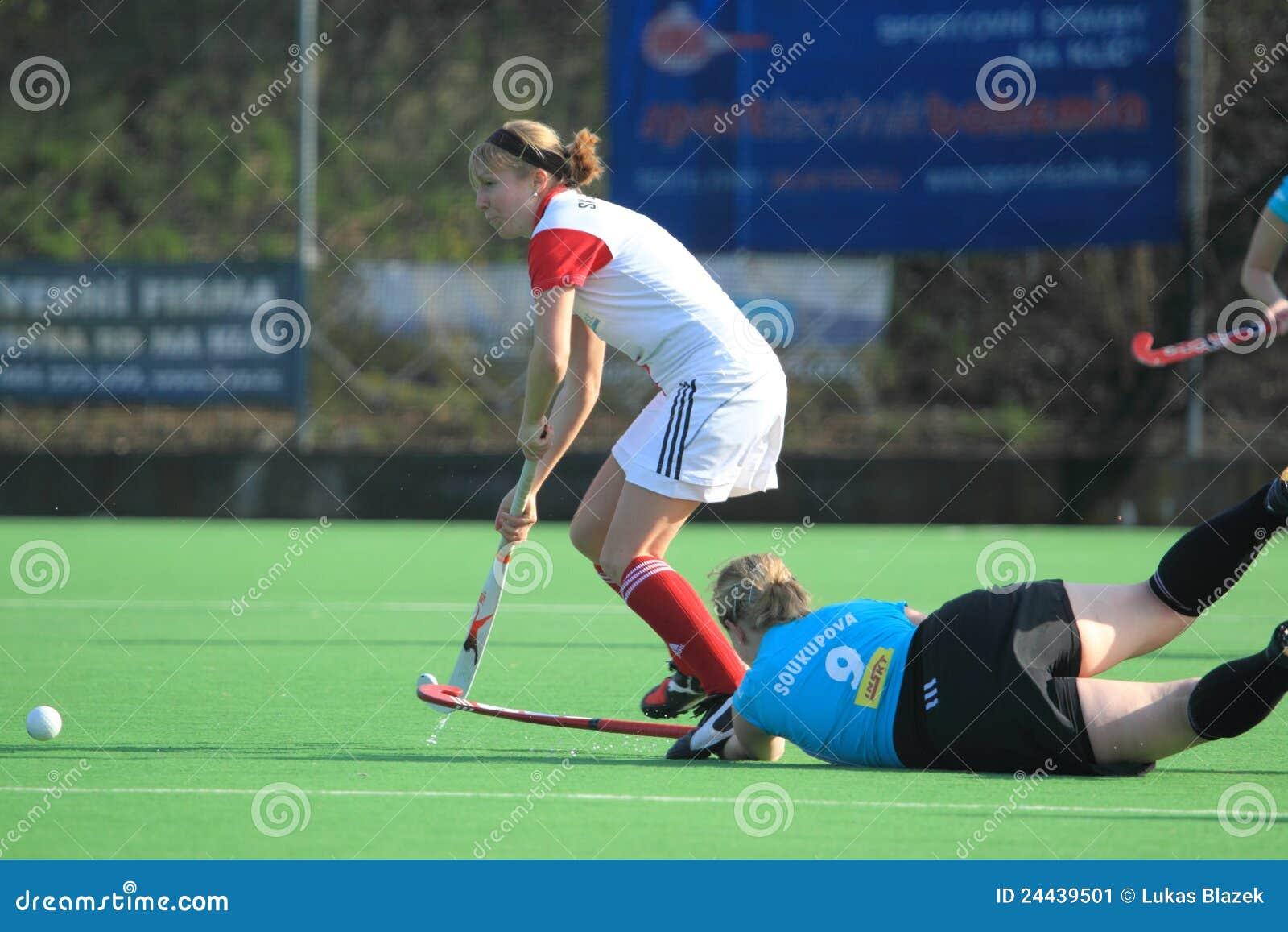 Andrea czeski śródpolnego hokeja matejkova gracz