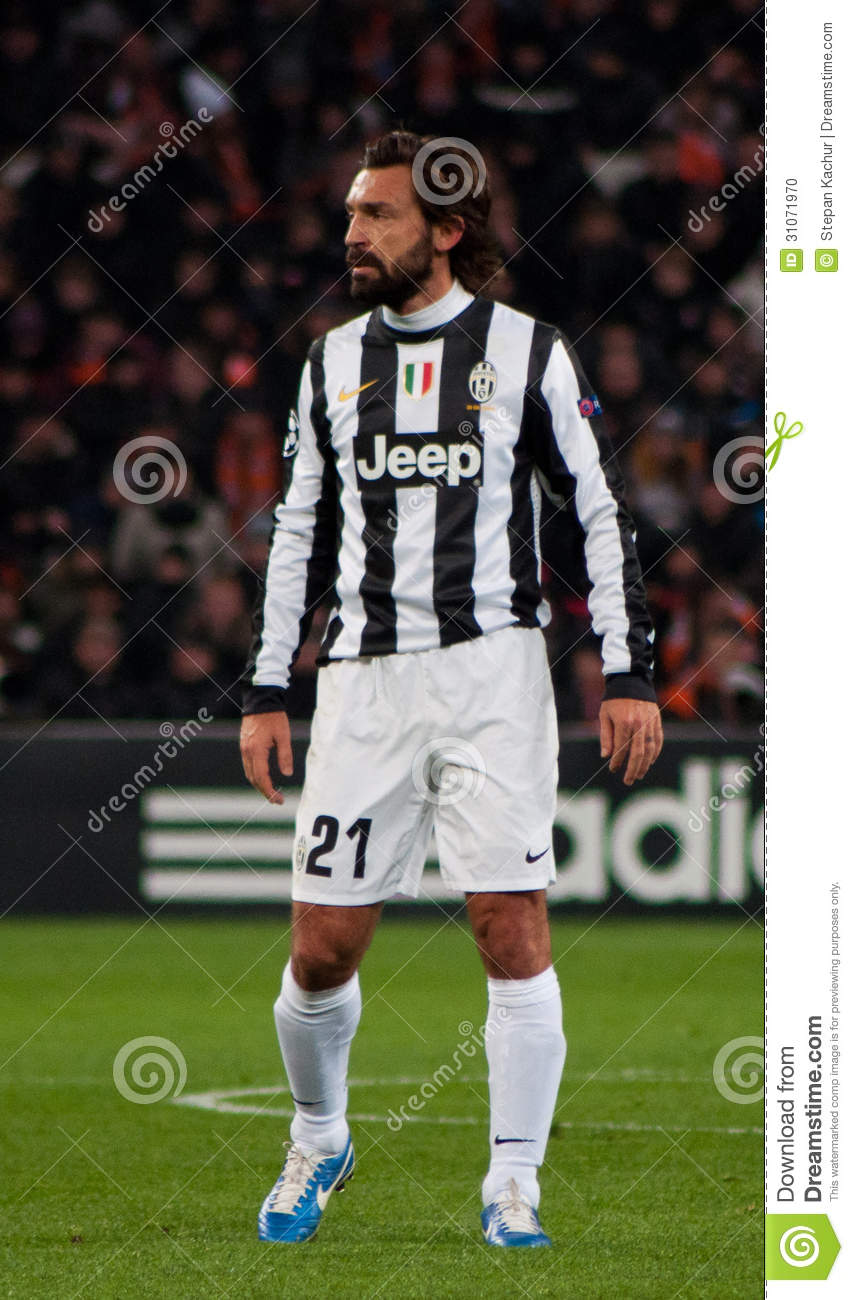 Andrea Pirlo player of Juventus