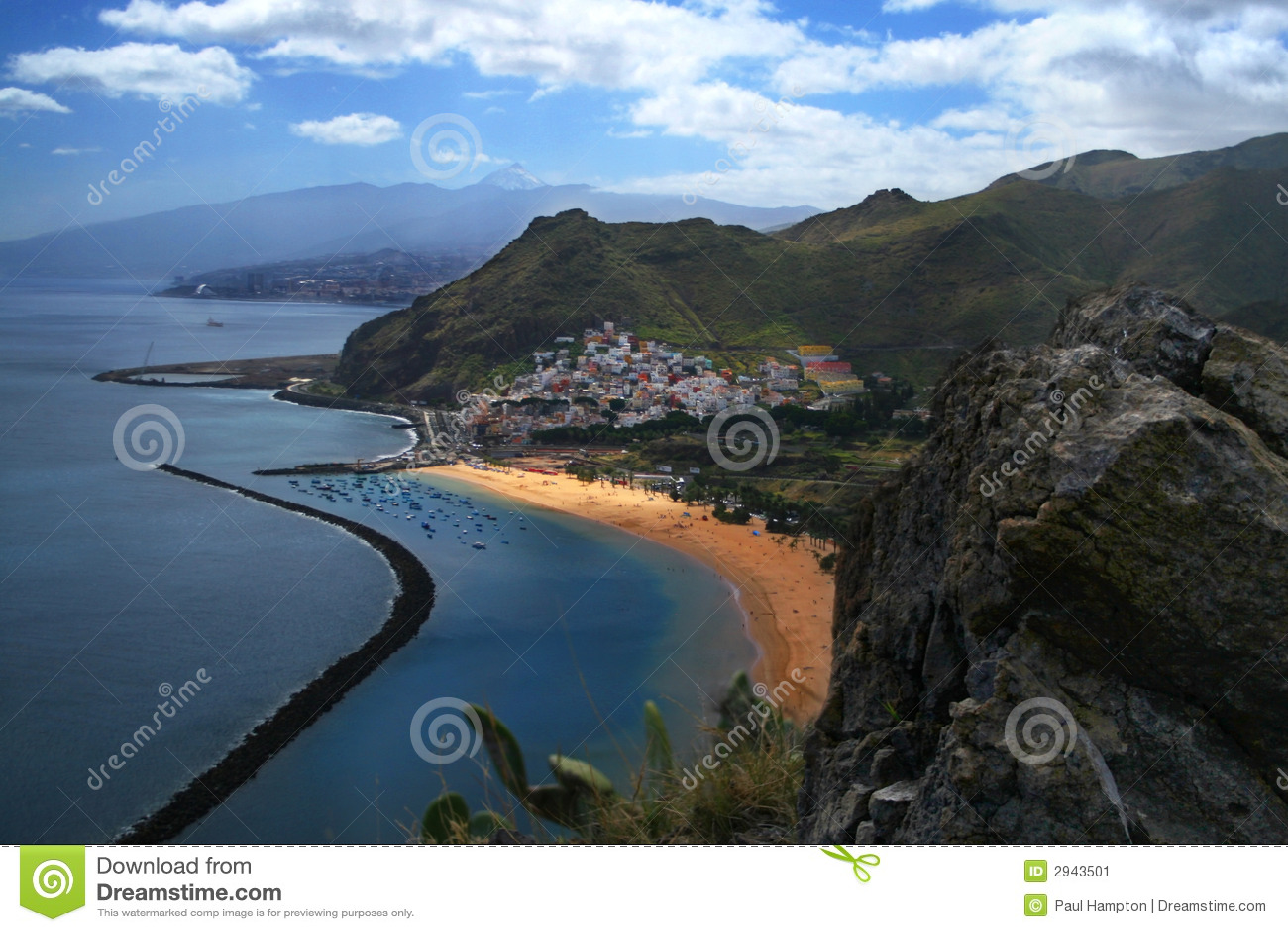 Andres bay San Tenerife