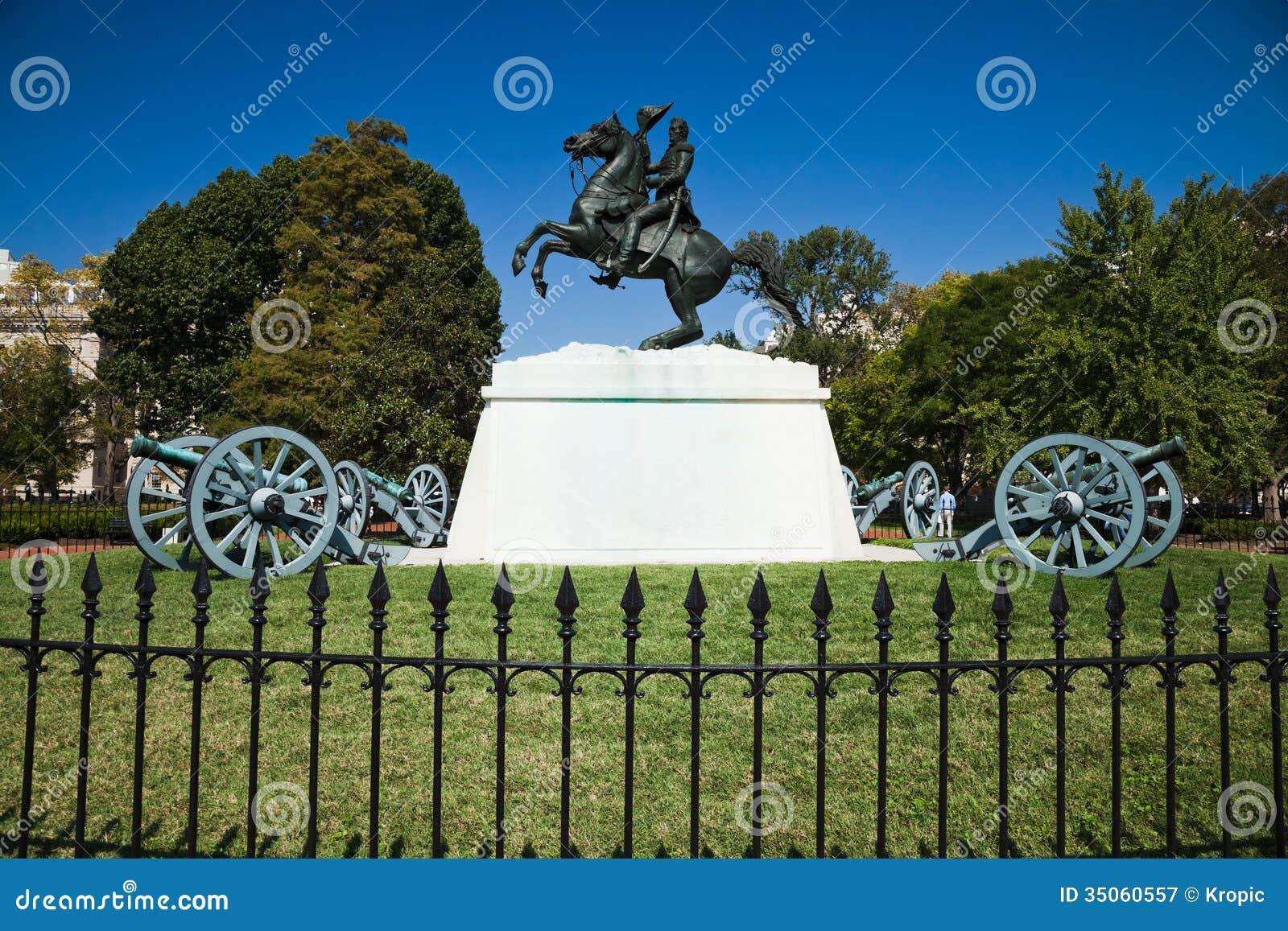 Andrew Jackson in het Vierkant van Lafayette