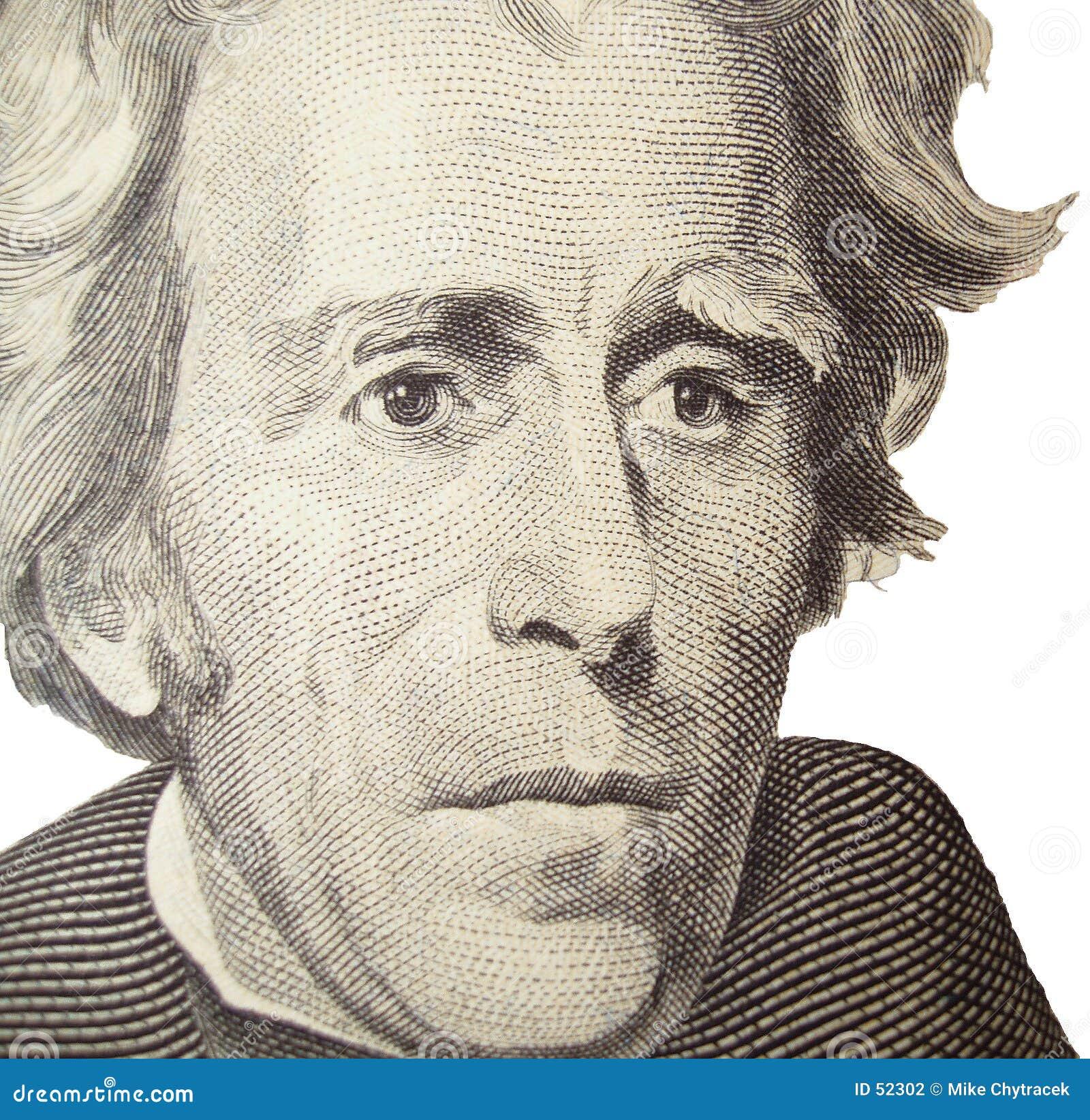 Andrew Jackson stående