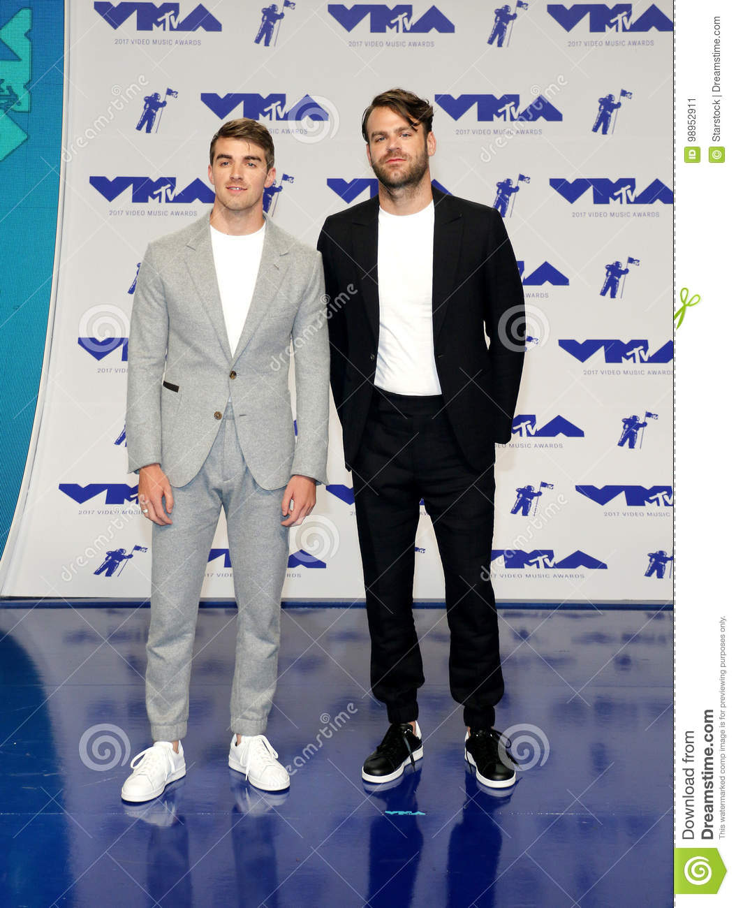 Andrew Taggart e Alex Pall dos Chainsmokers