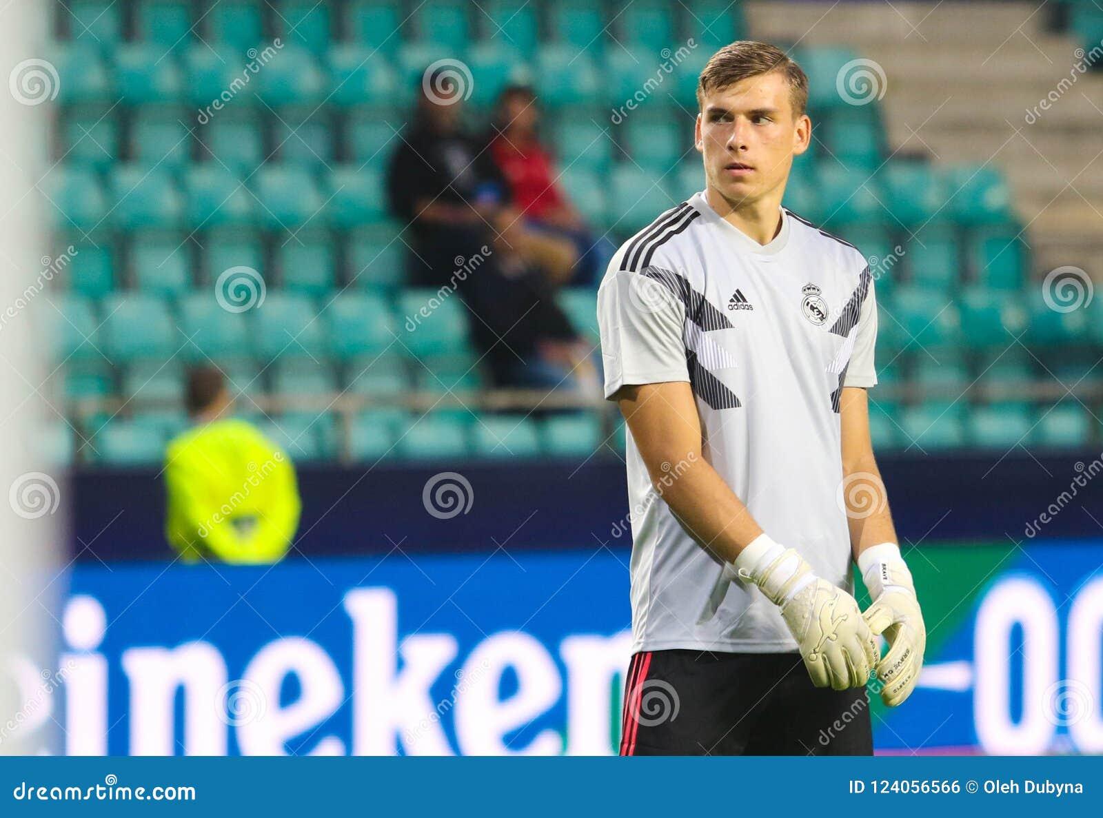 Andriy Lunin Real