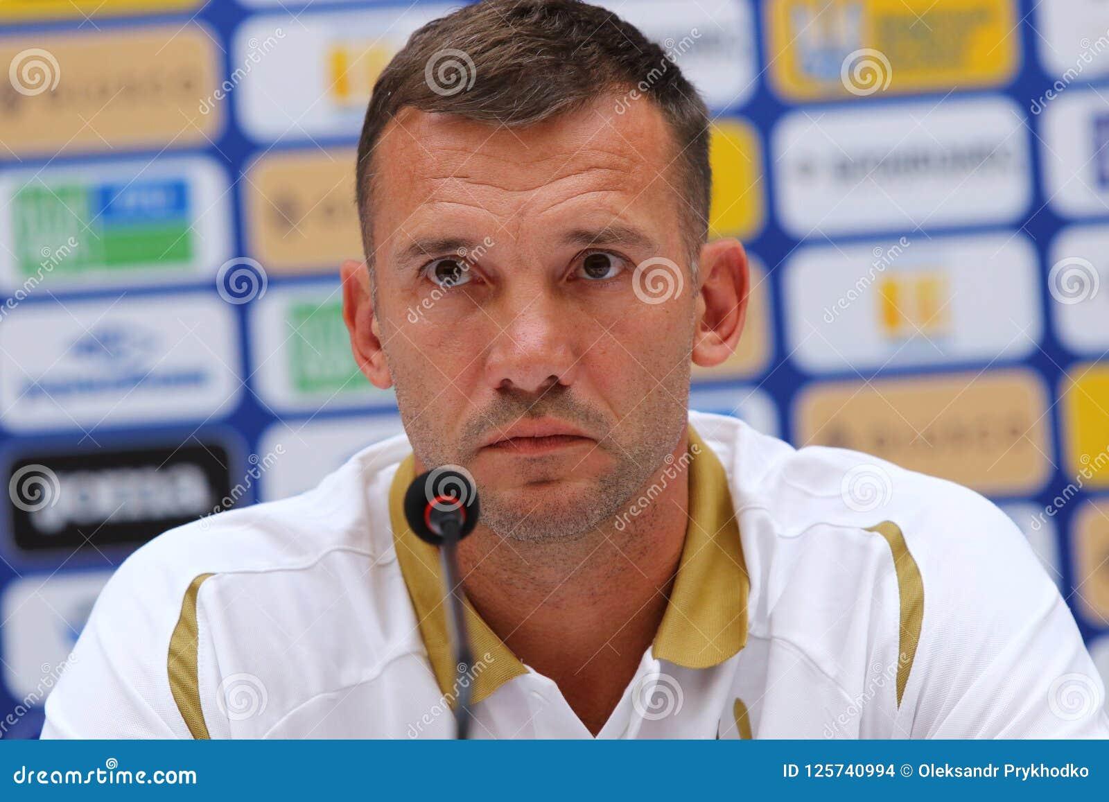 Andriy Shevchenko Of Ukraine Editorial Image ...