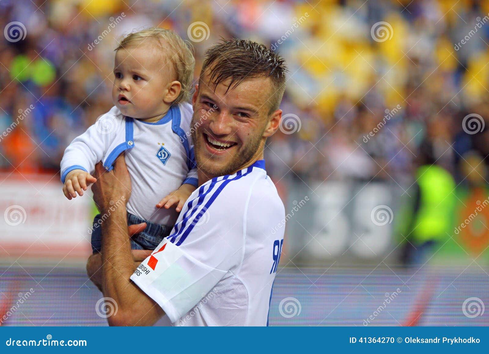 Andriy Yarmolenko Dynamo Kyiv Editorial Image Image