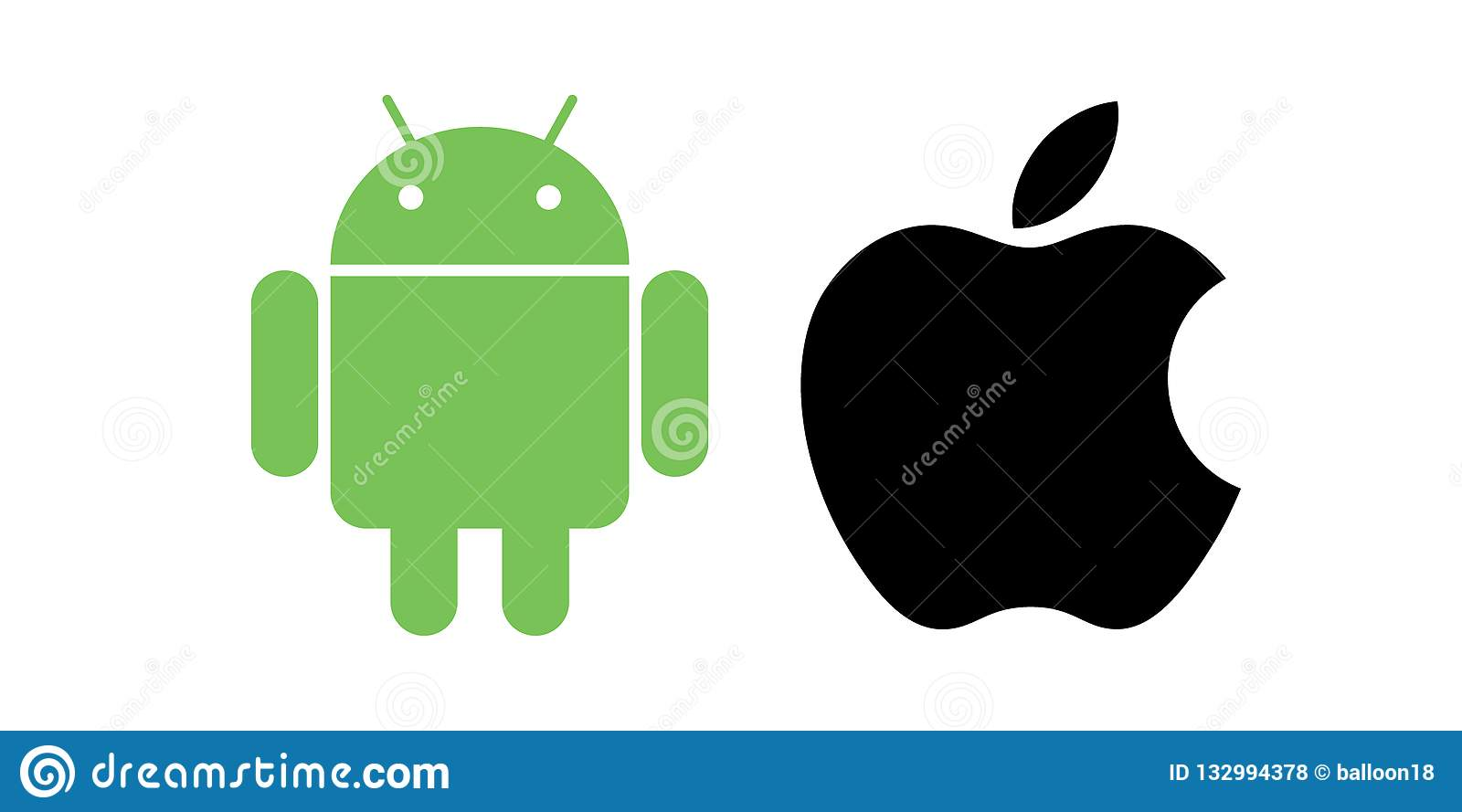 Android apple icons