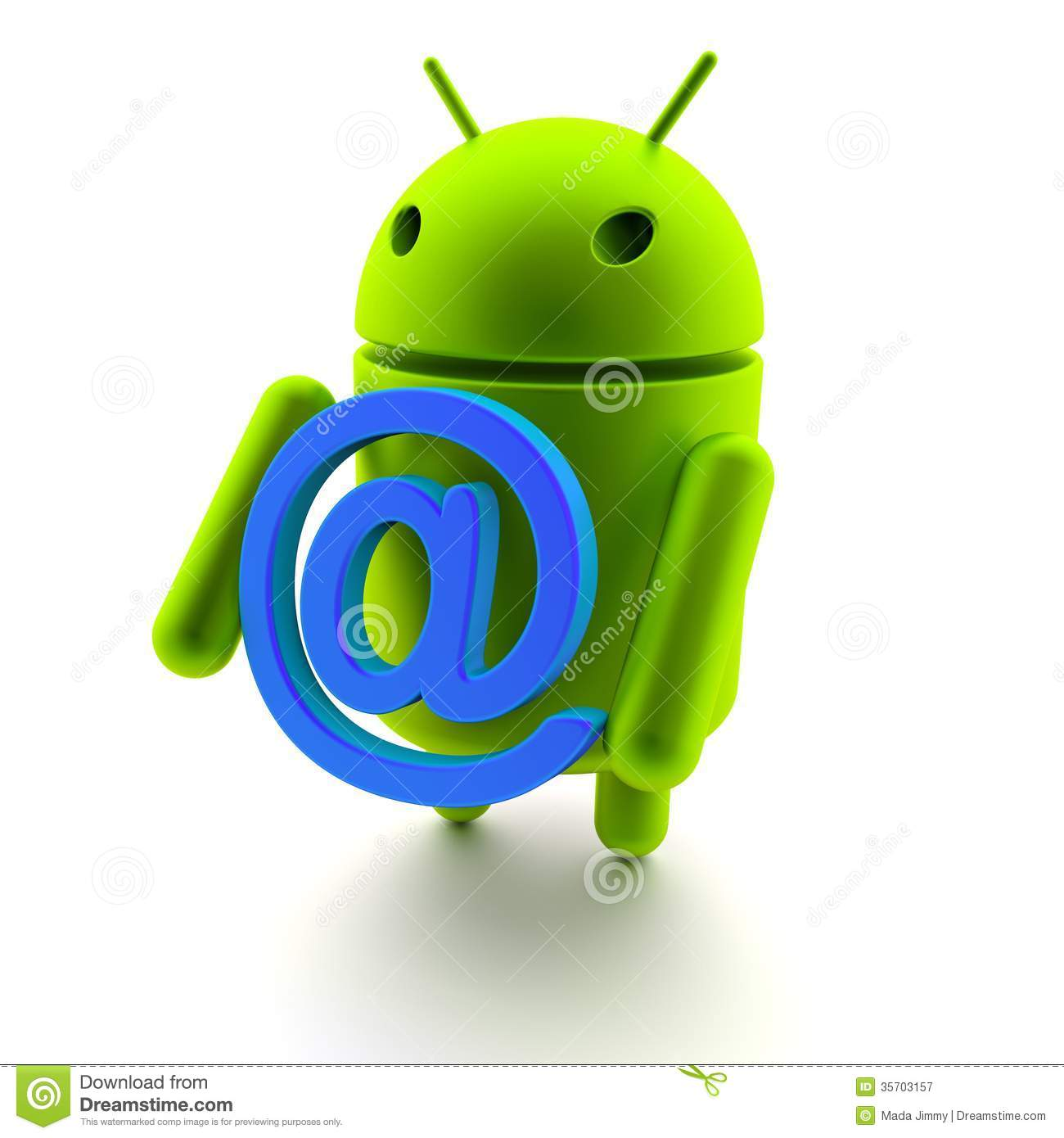Android 3d model and Internet