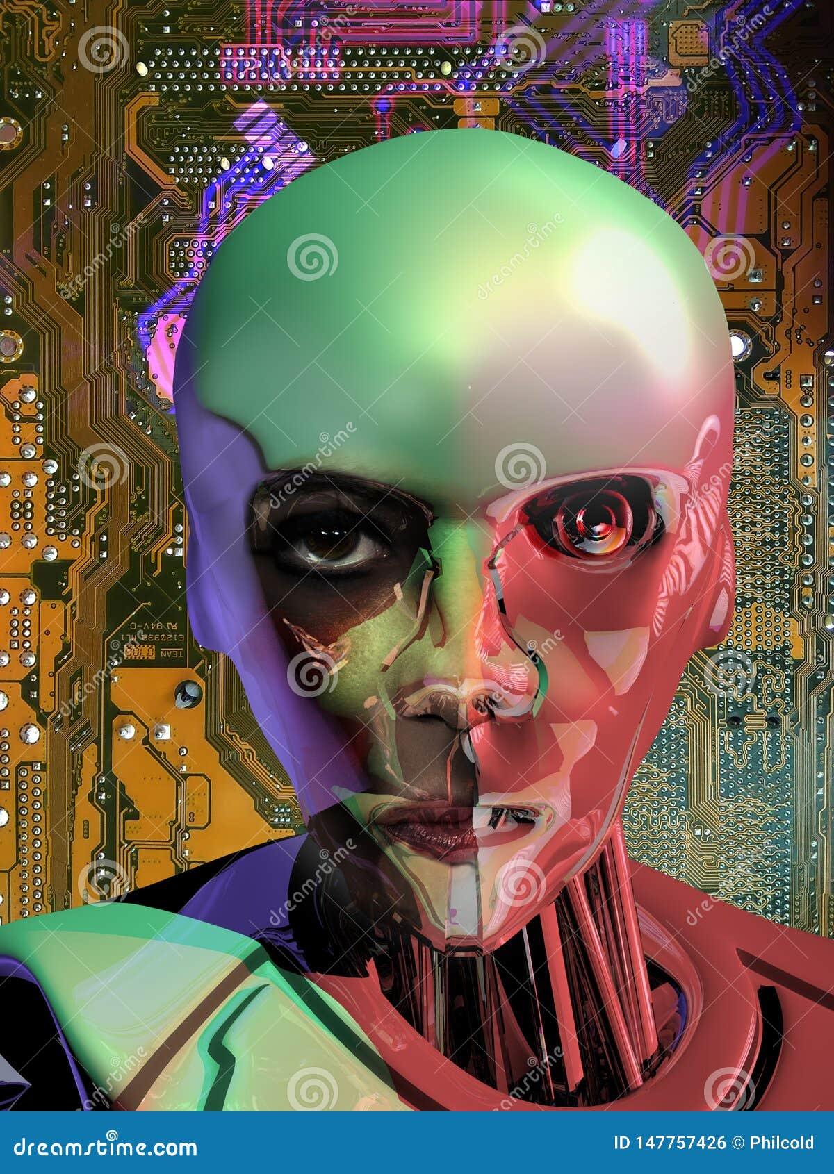 Android dicht bij menselijke Intelligentie