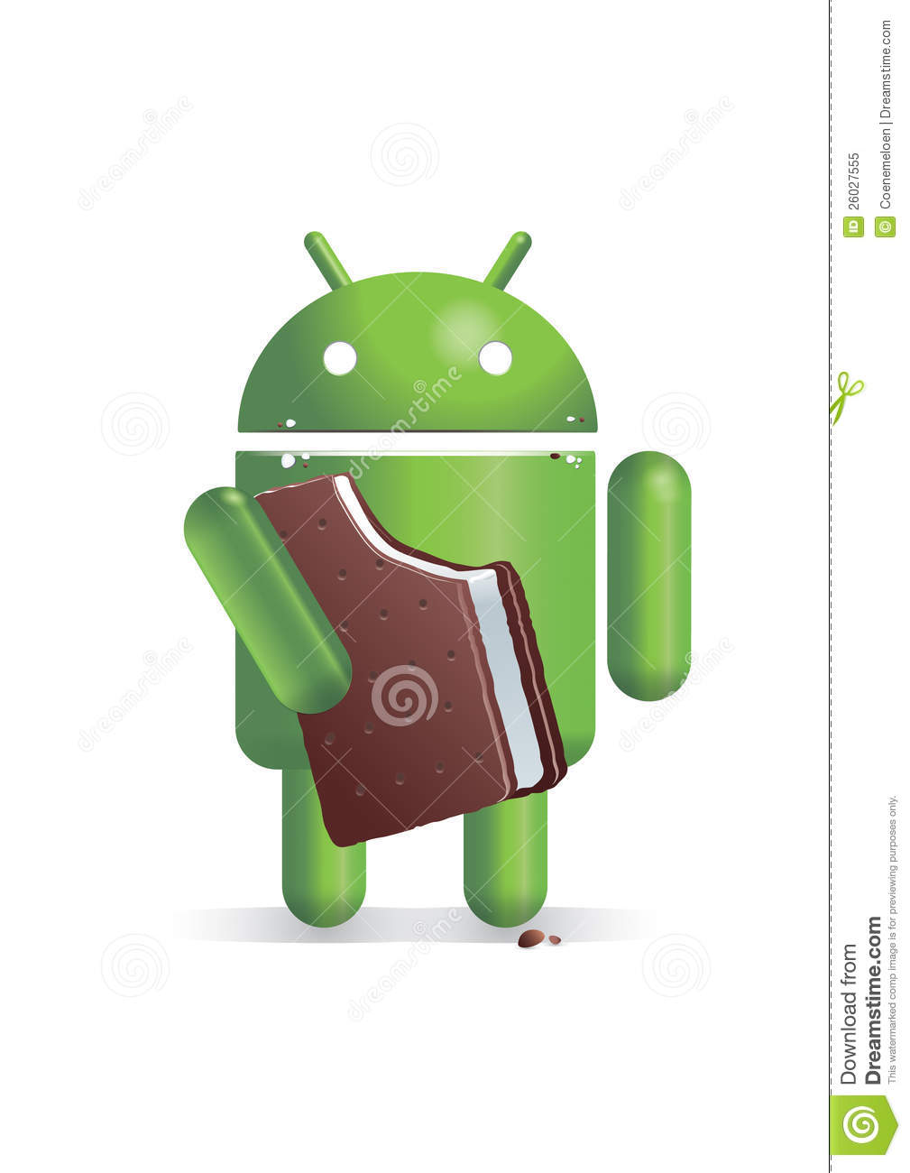 Android Users Are Not Ice-Cream Eaters