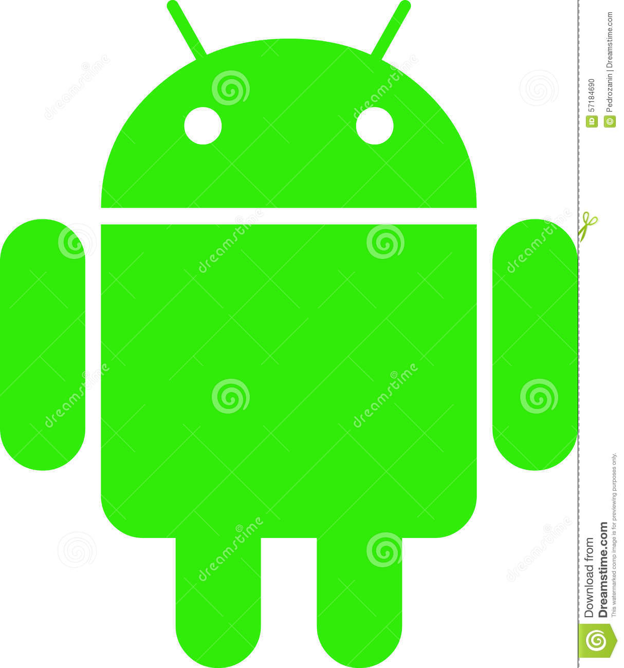 android logo editorial image illustration of available 57184690