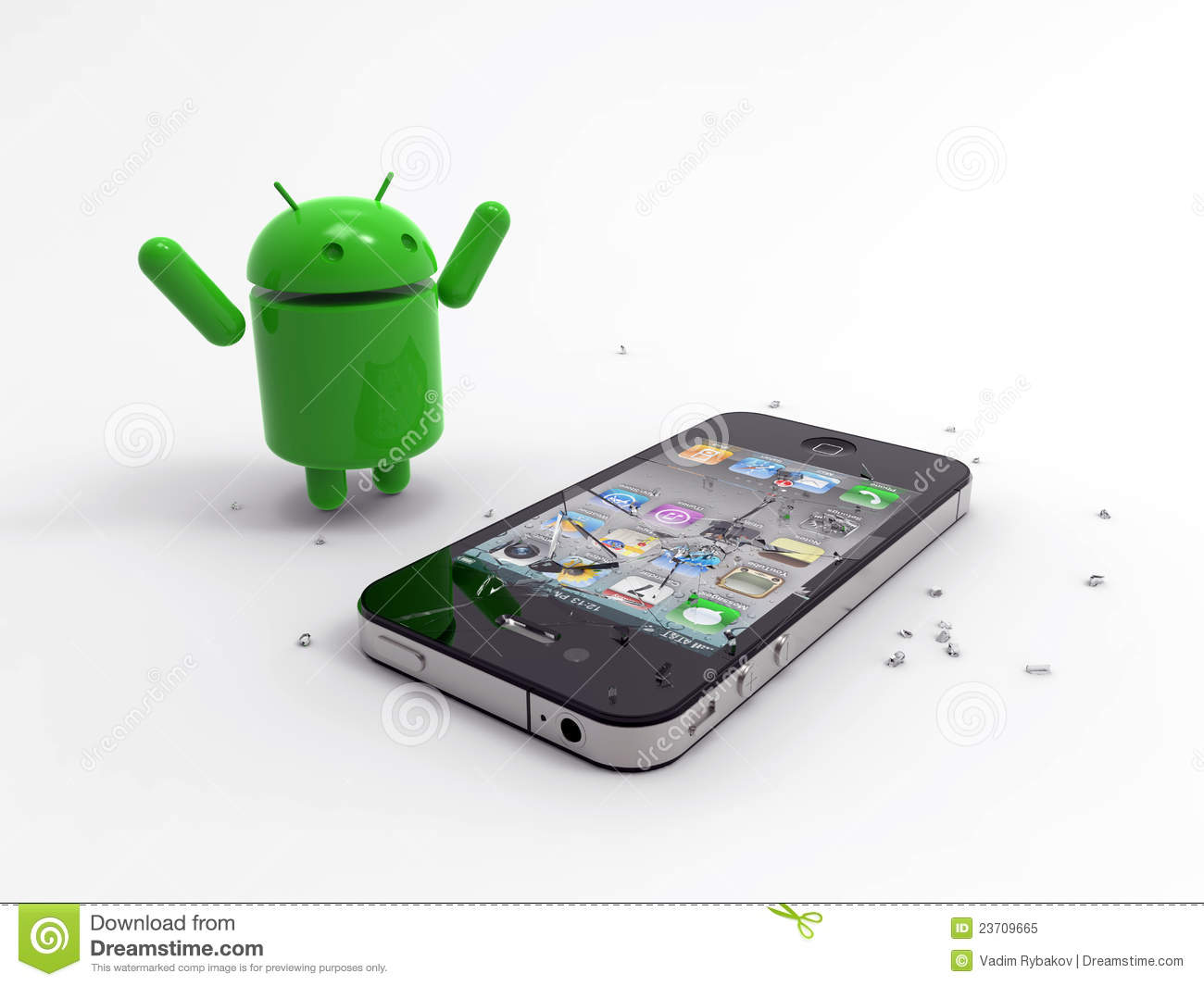iphone versus android android logo vs iphone editorial image image 23709665 12427