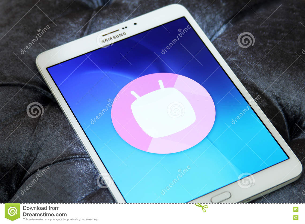 Android Marshmallow logo editorial photography  Image of