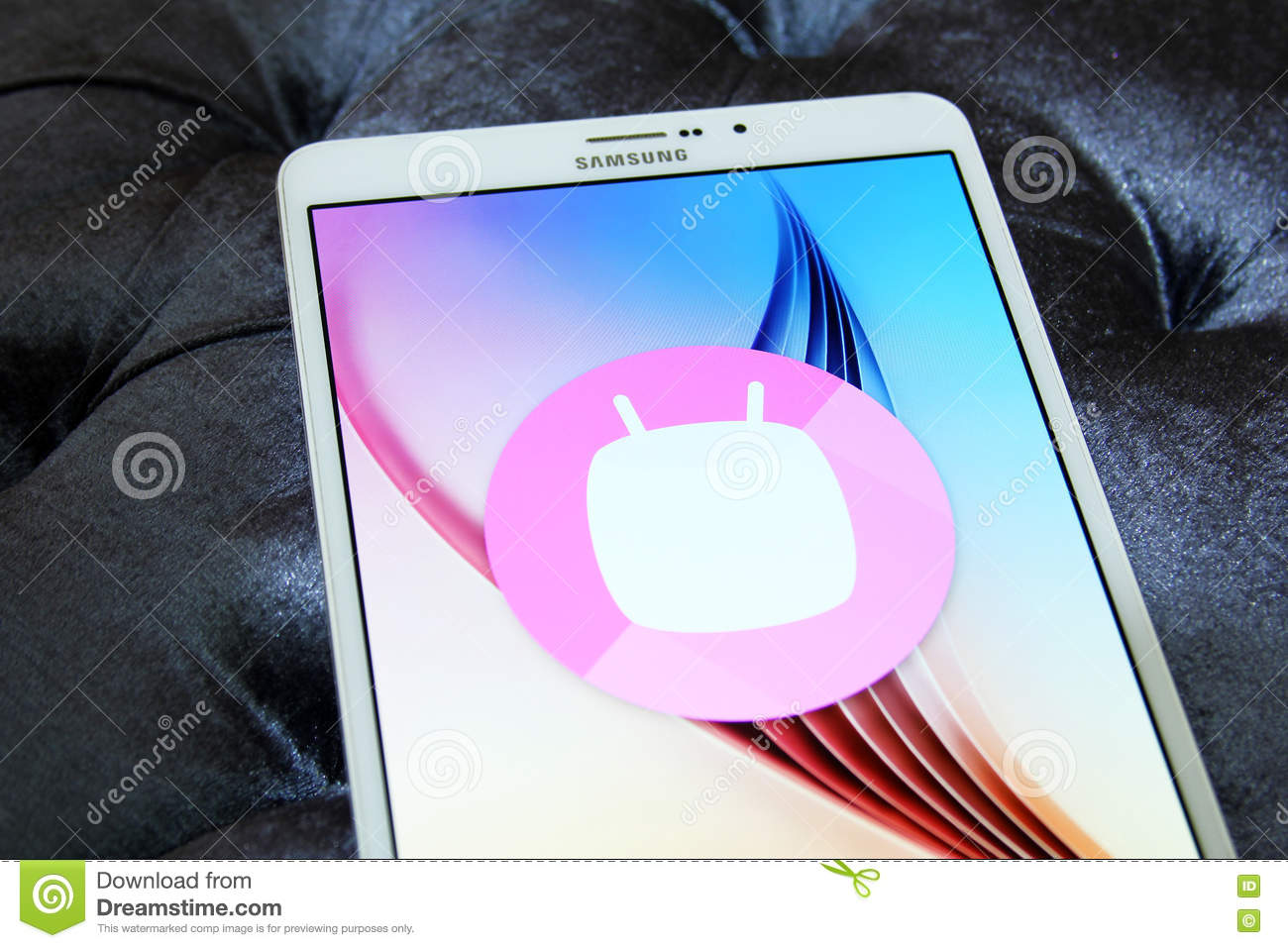 Android Marshmallow logo editorial photo  Image of