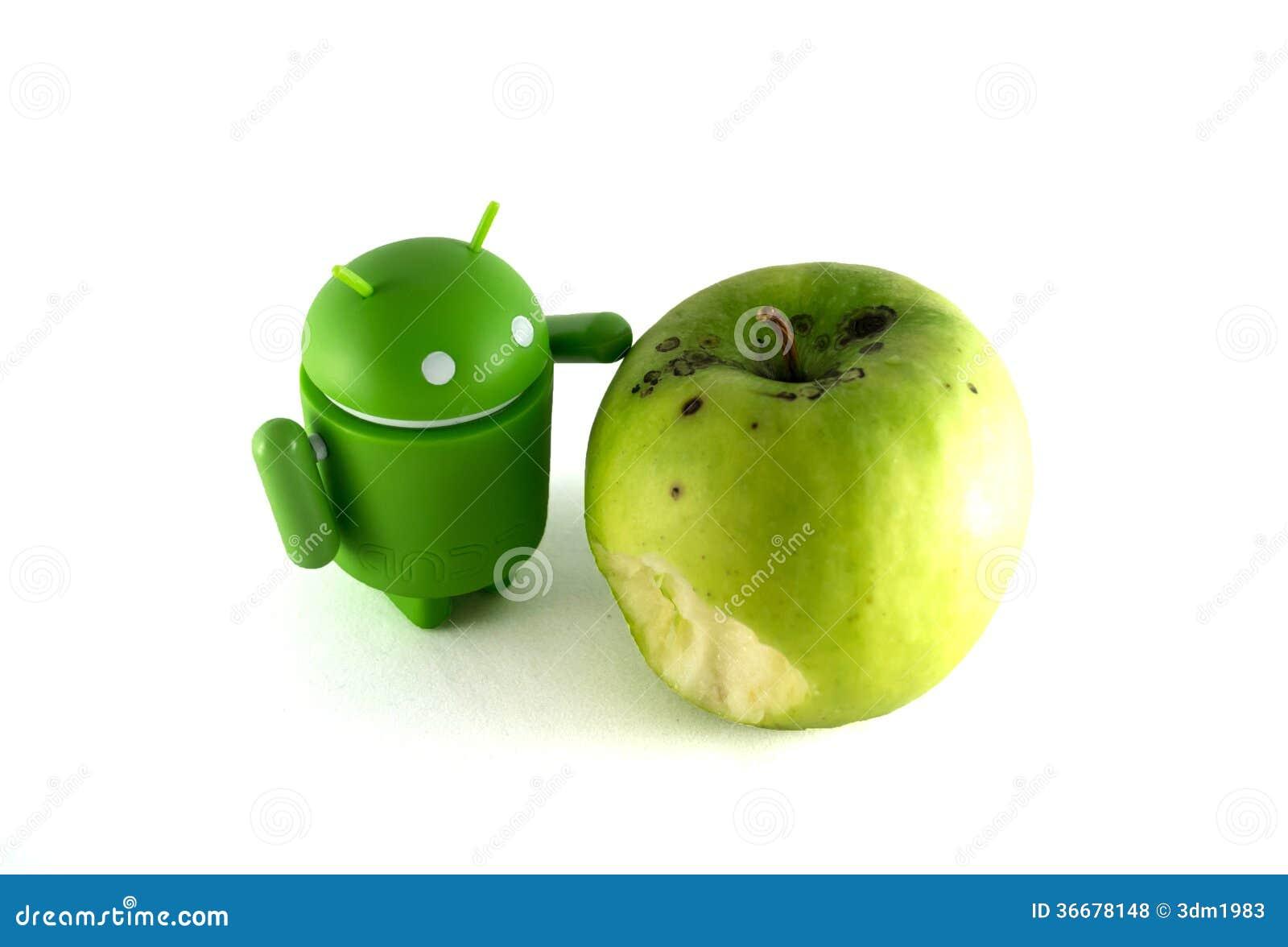 Android met appel