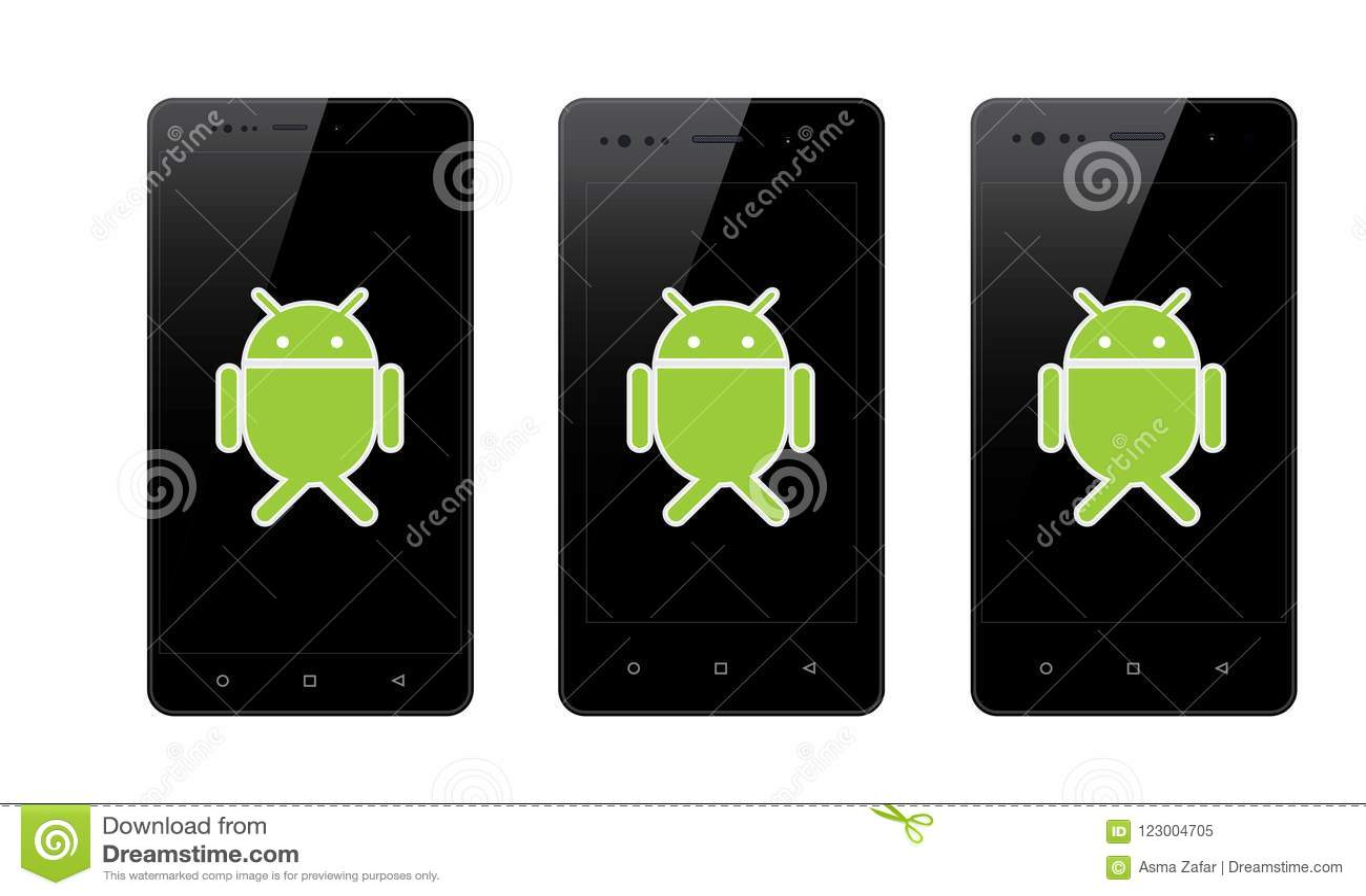 Android mobiltelefon