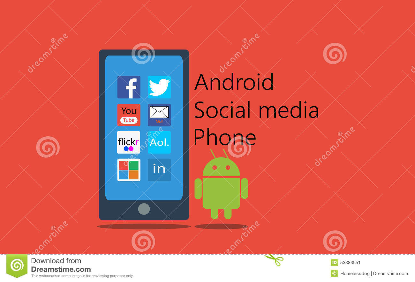 Android social media phone