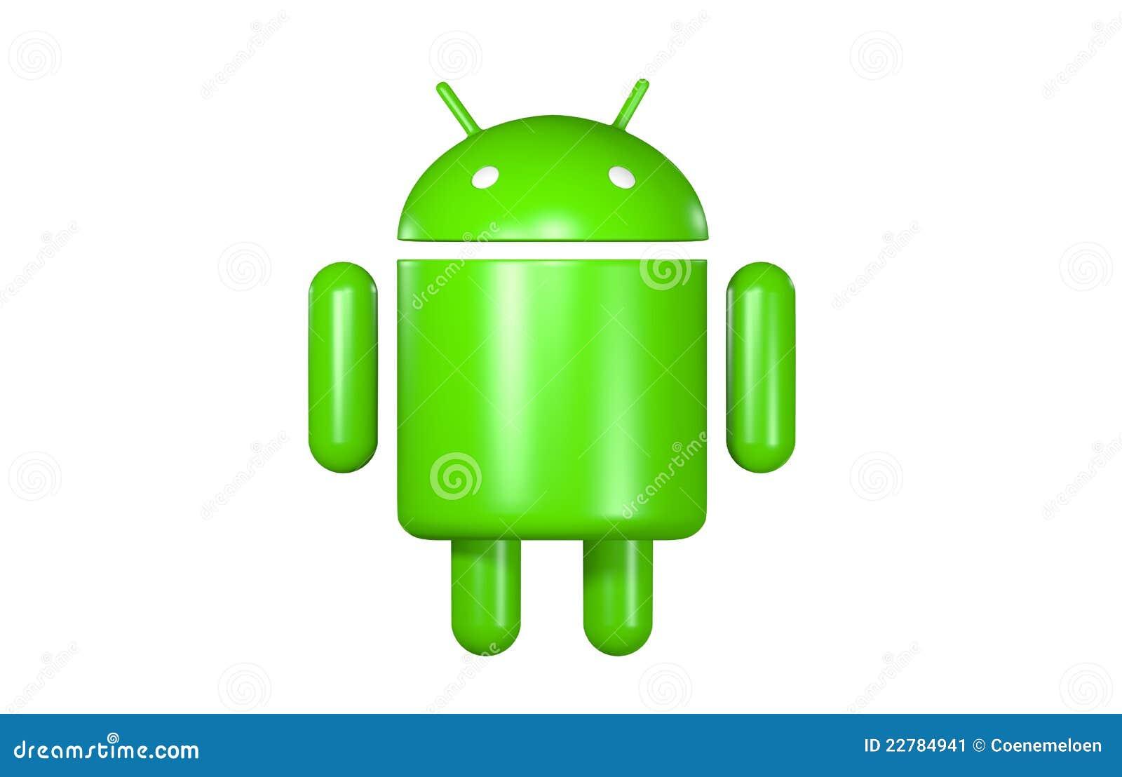 Androides Roboter Zeichen Redaktionelles Foto Bild 22784941