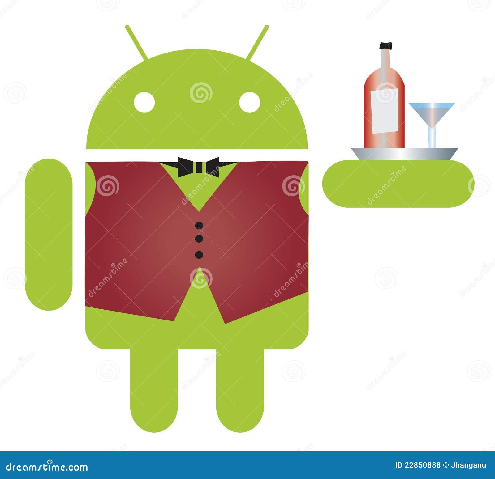 Androidu kelner