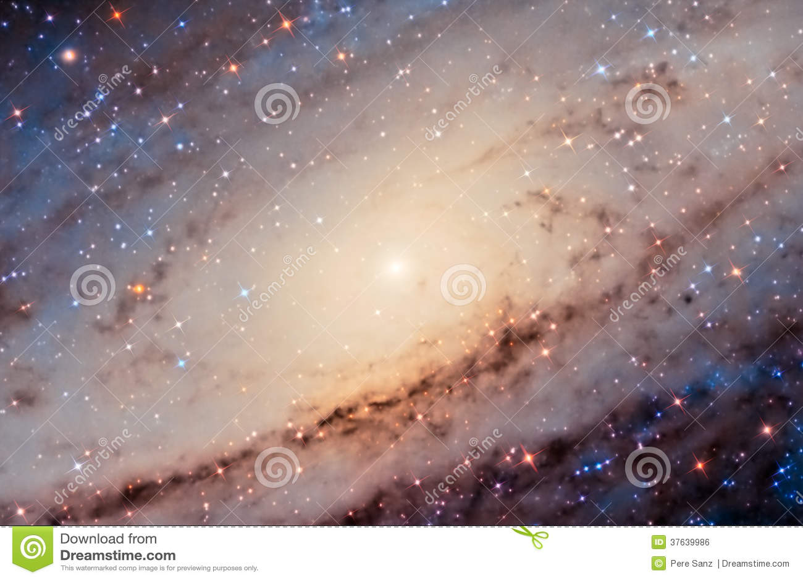 Andromeda Galaxy Center