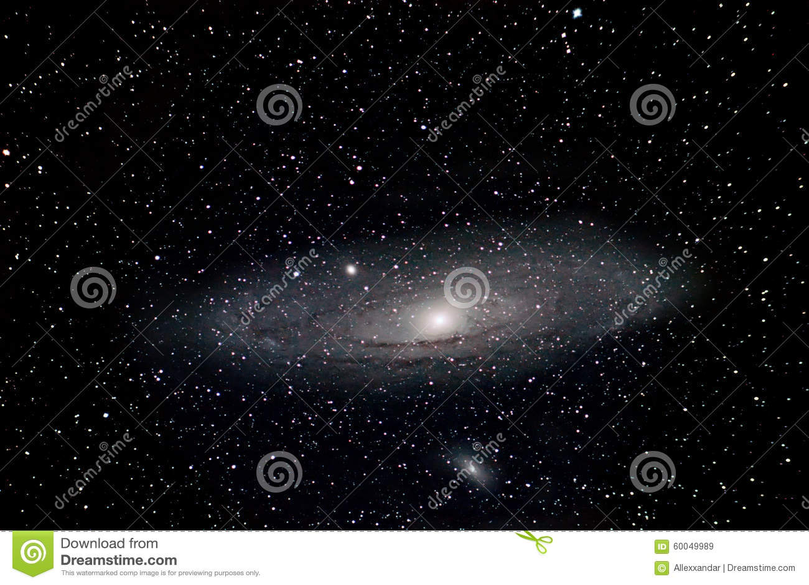 Andromeda Galaxy Night Sky Deep Space Beautiful