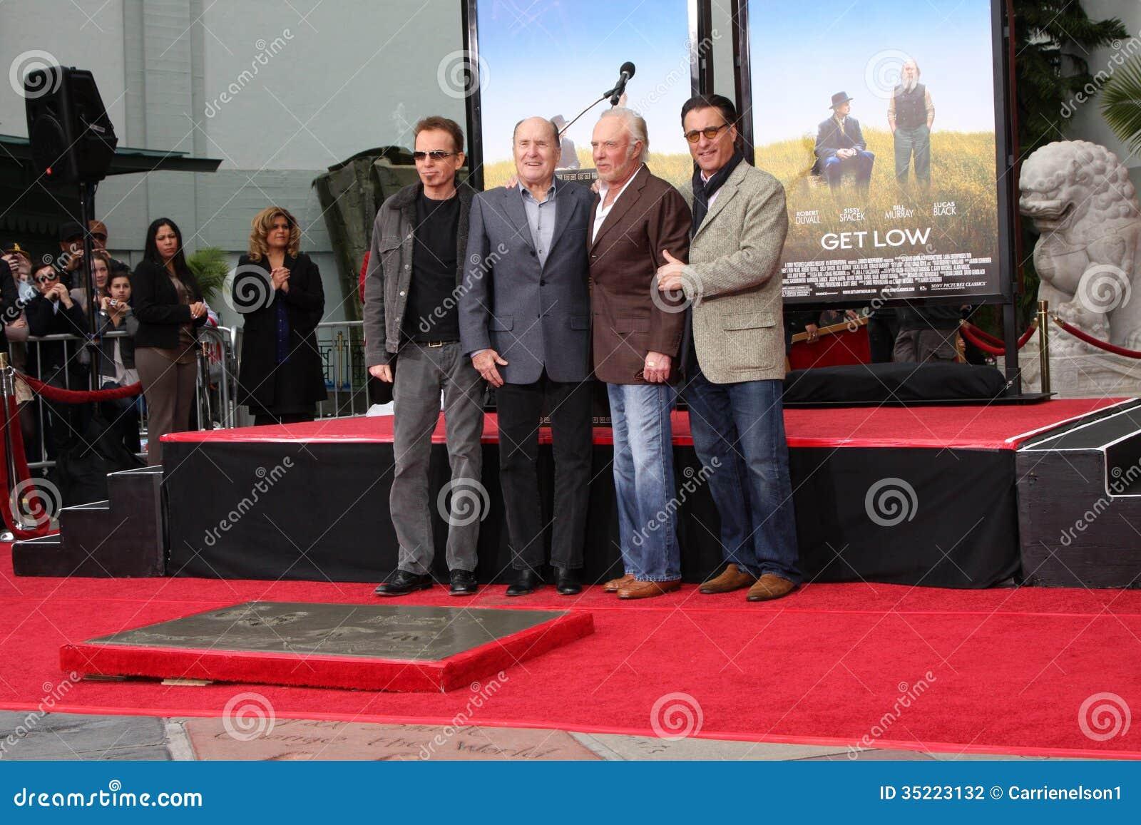 Andy Garcia, Billy Bob Thornton, James Caan, Robert Duvall