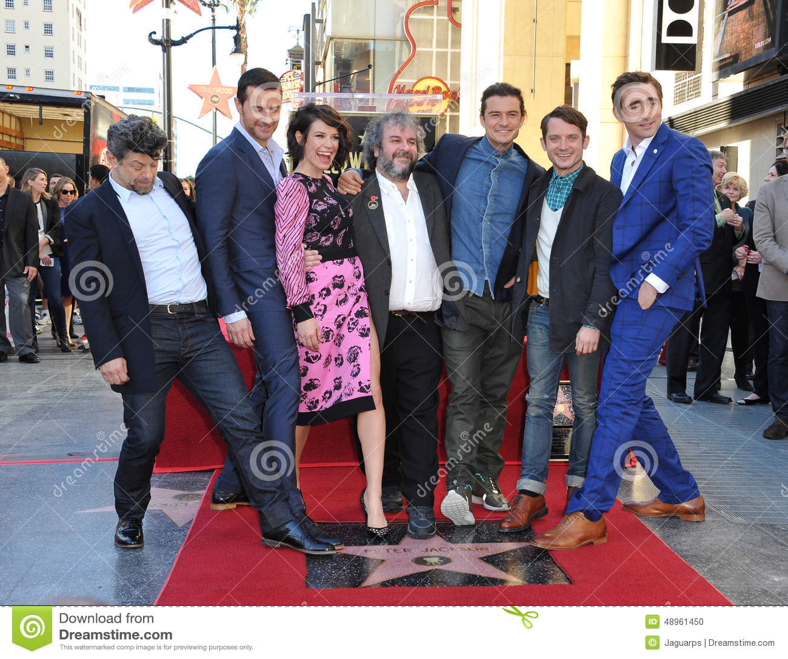 Andy Serkis & Richard Armitage & Evangeline Lilly & Peter Jackson & Orlando Bloom & Elijah Wood & Lee Pace