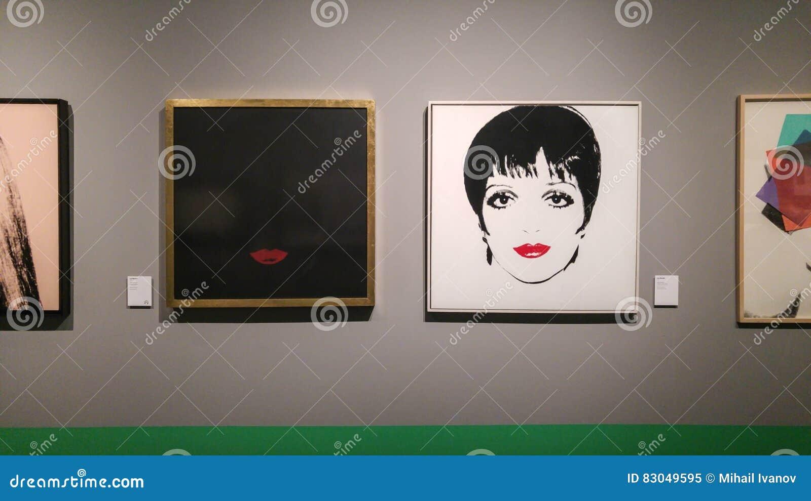 Andy Warhol Liza Minnelli