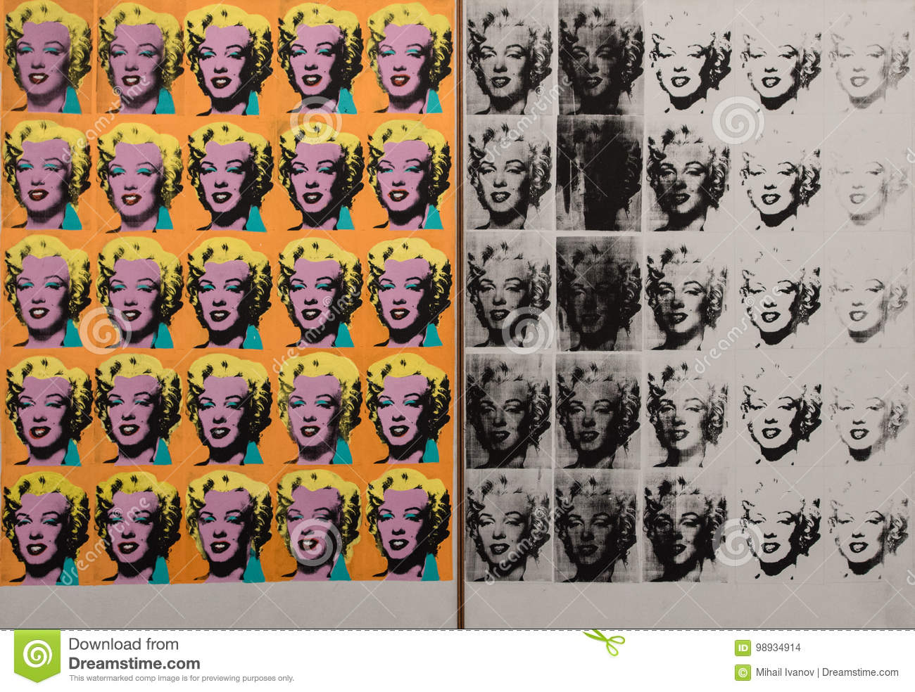 An Analysis of Andy Warhol's Gold Marilyn Monroe Essay