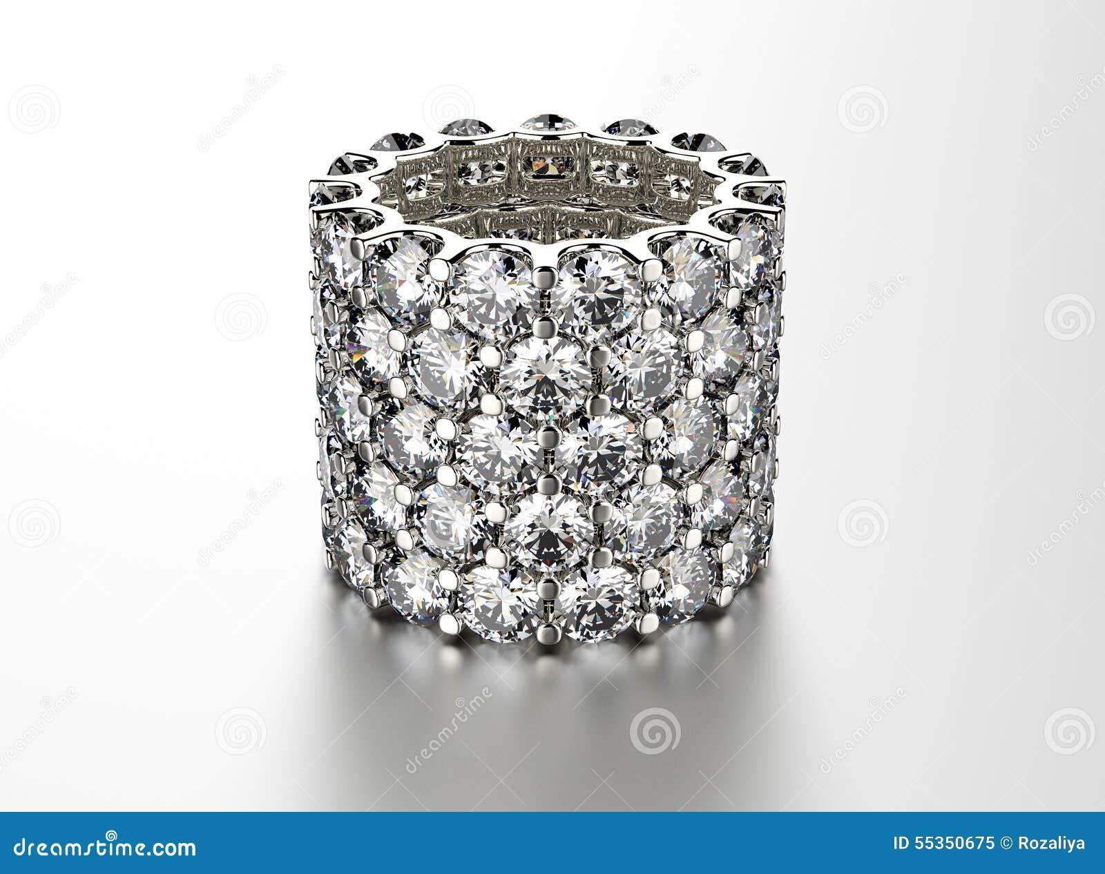 Anello con il diamante