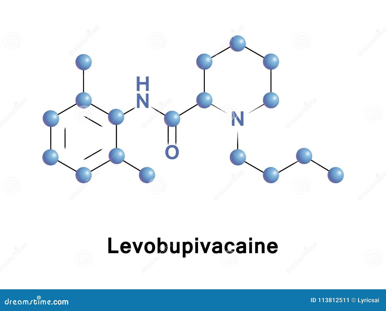 Anestetico del locale di Levobupivacaine