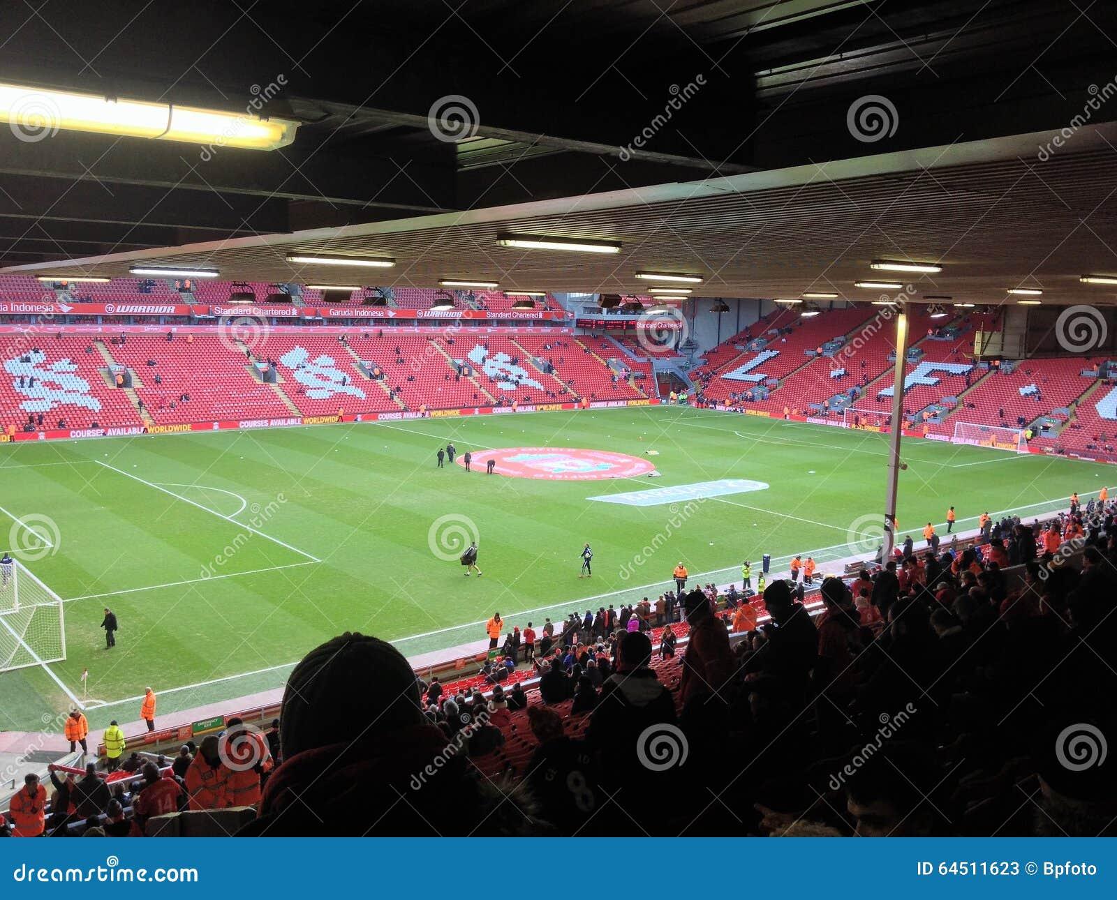 Anfield för kick-off