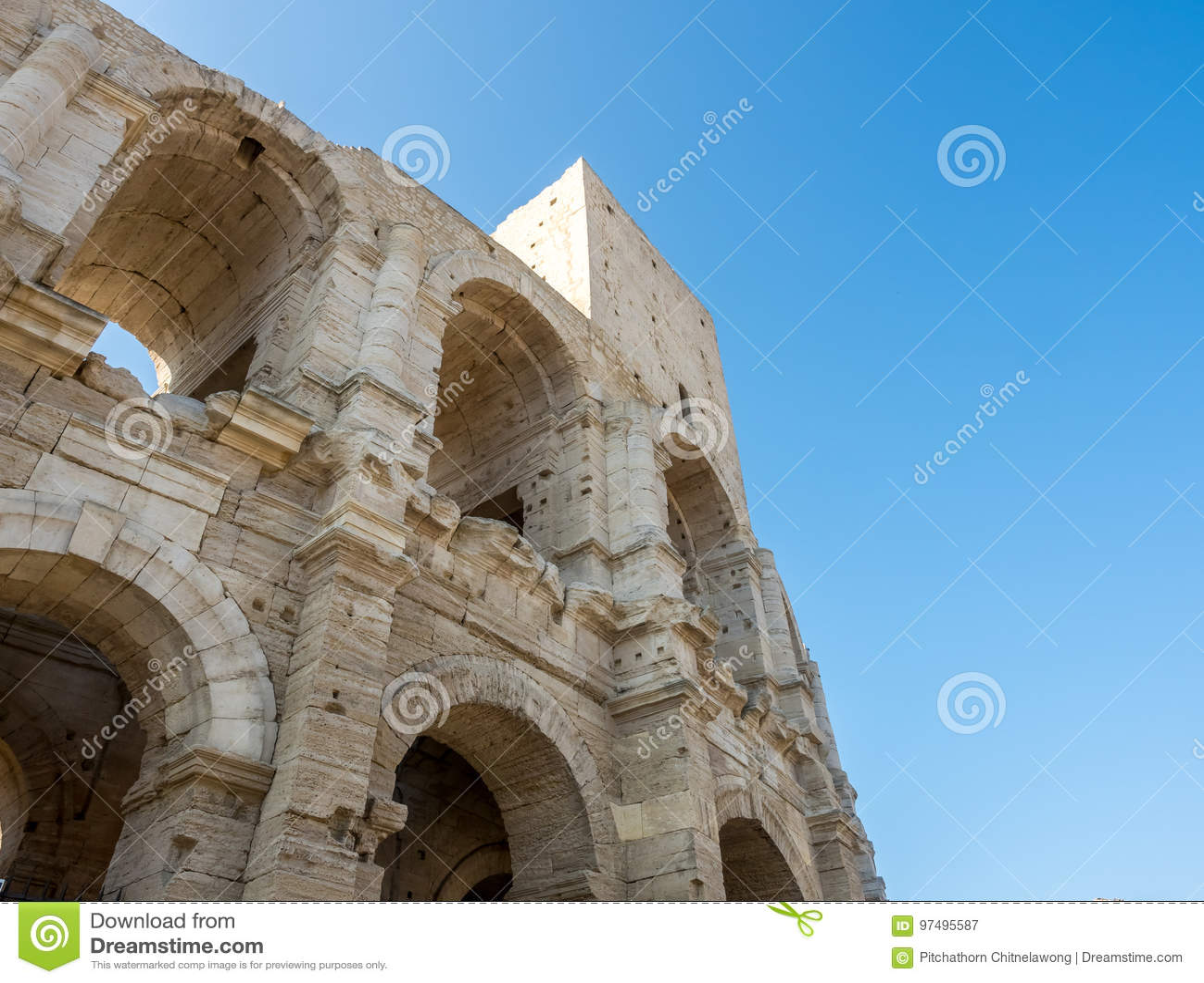 Anfiteatro in Arles, Francia