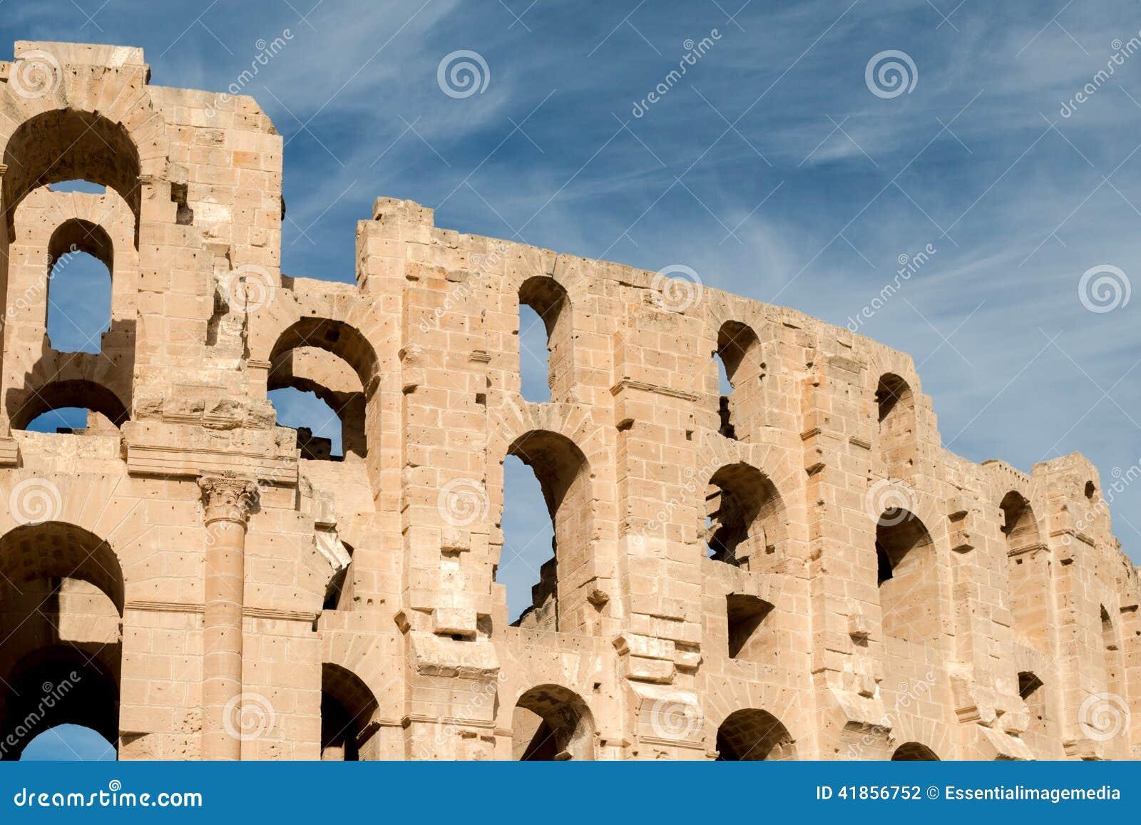 Anfiteatro do EL Djem (4)