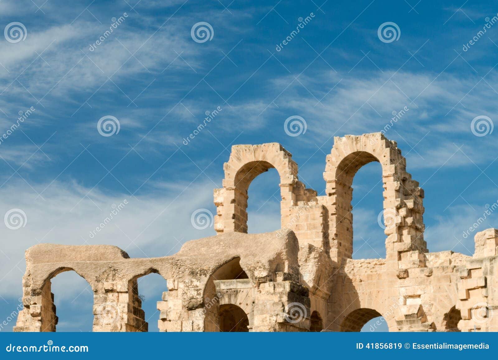 Anfiteatro do EL Djem (9)