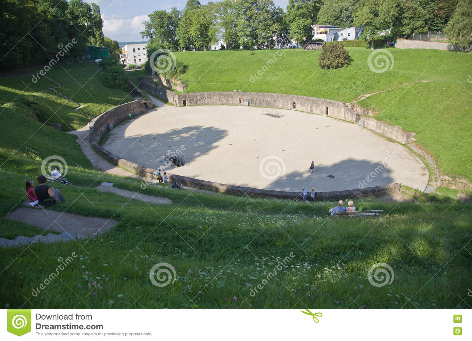 Anfiteatro no Trier, Alemanha