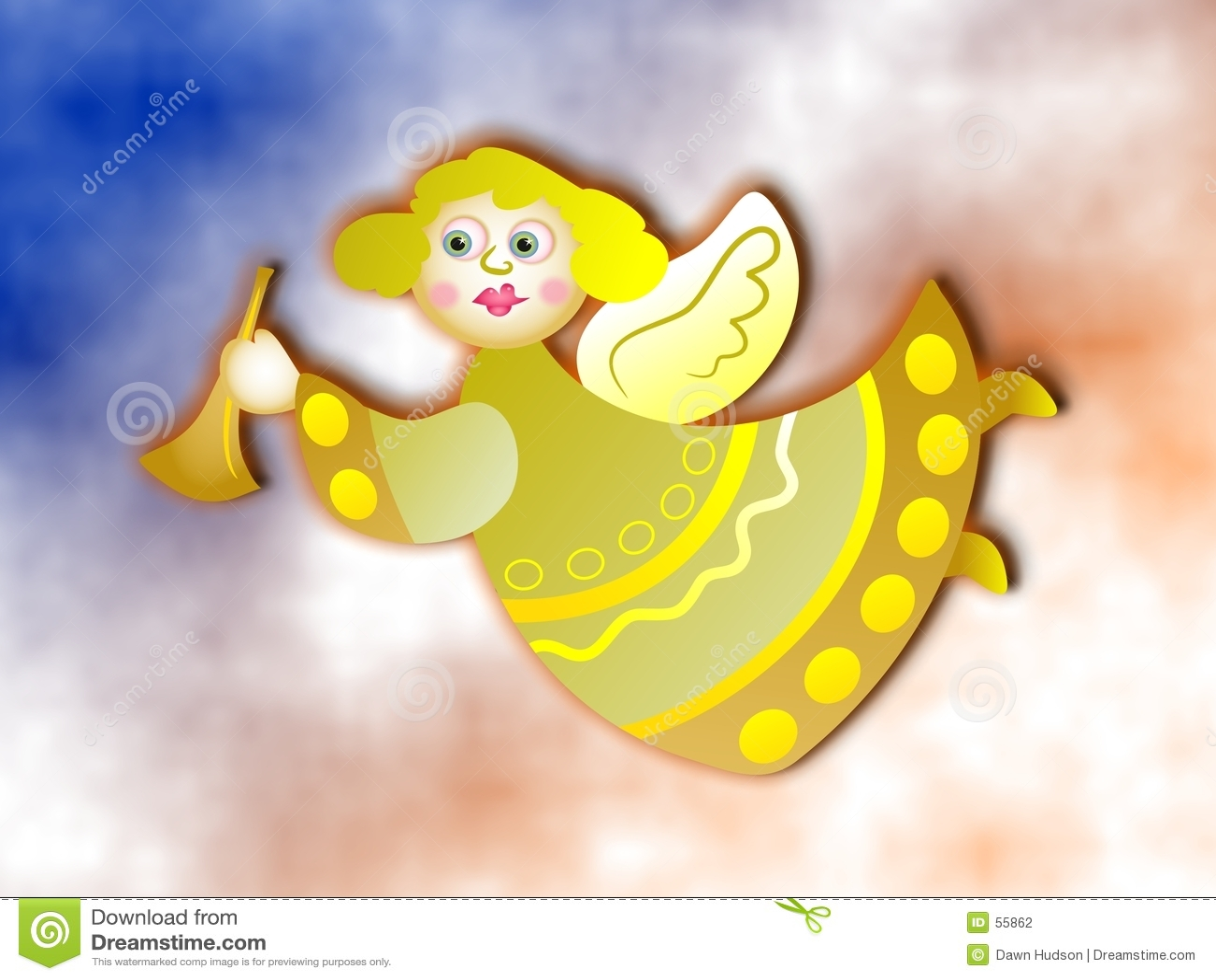 Download Ange illustration stock. Illustration du êtres, saint, illustrations - 55862