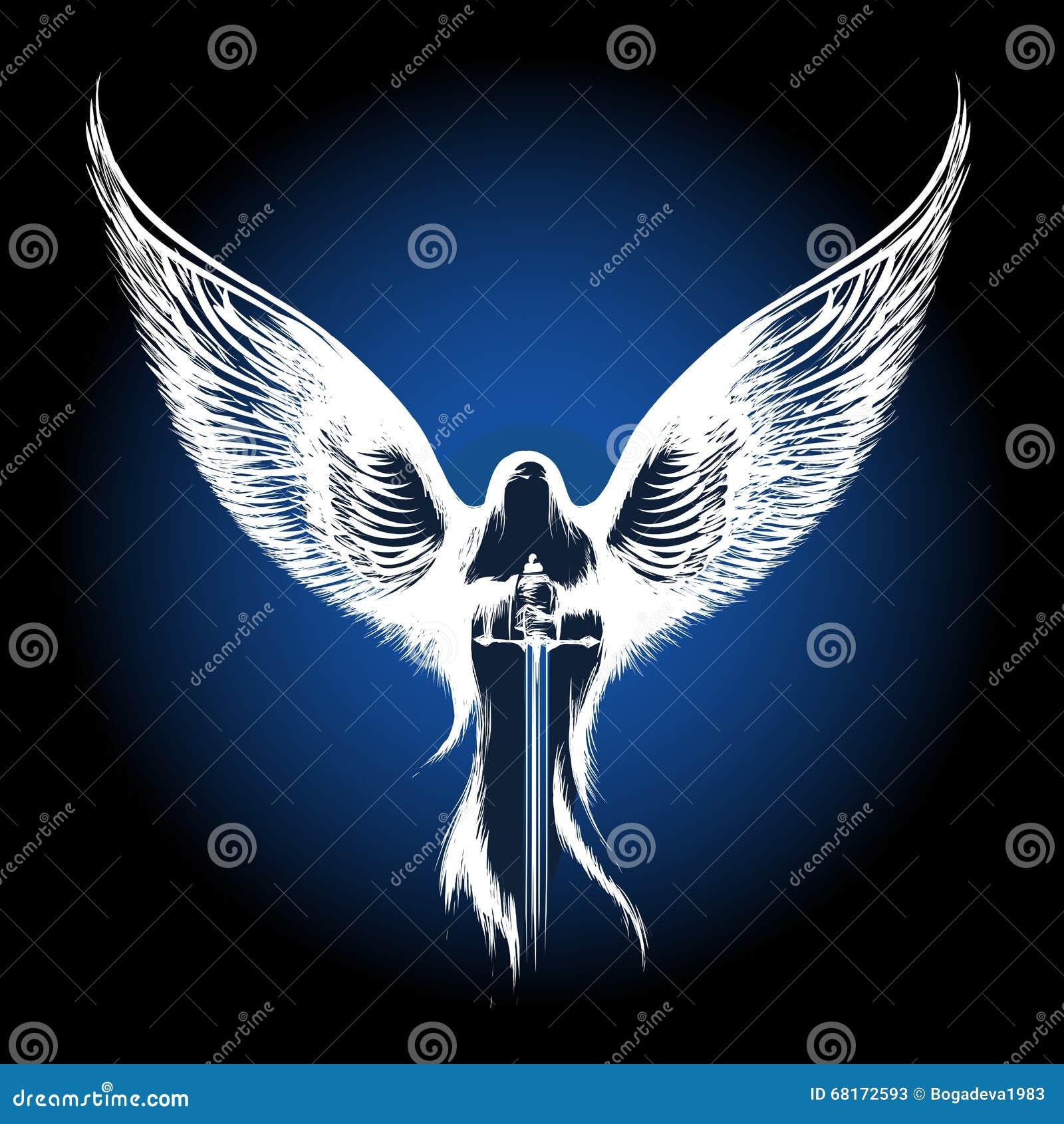 Ange avec l épée