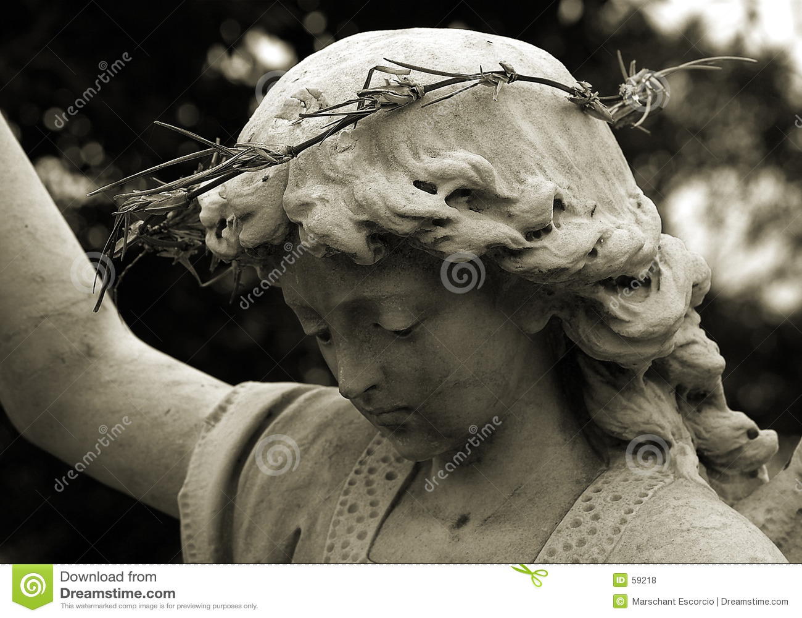 Download Ange de gardien photo stock. Image du observateur, femmes - 59218