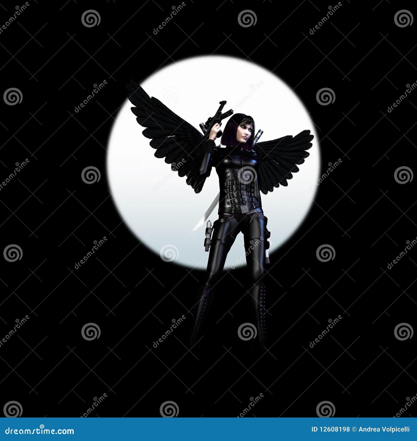 Ange foncé 01