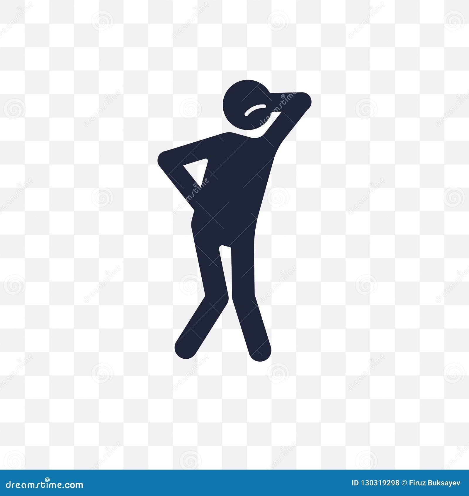 Angelägen mänsklig genomskinlig symbol angelägen mänsklig symboldesign från
