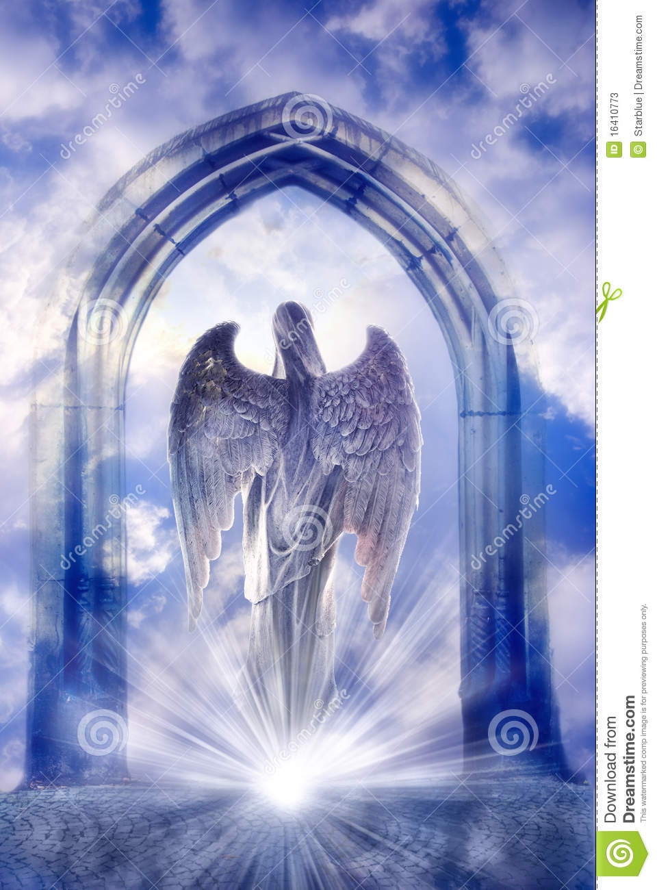 Angel stock image. Image of religious, heaven, guardian ...