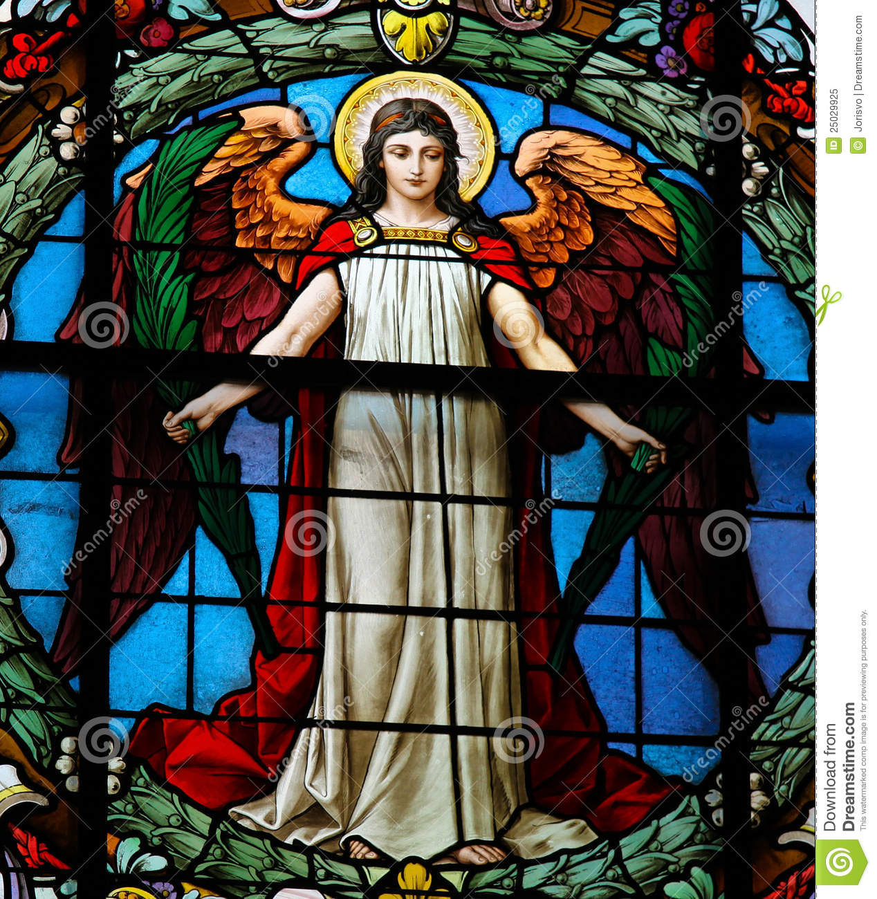 Angle Stained Glass