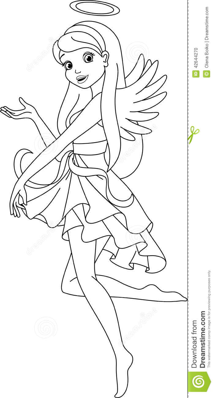 coloring page stock vector image of black