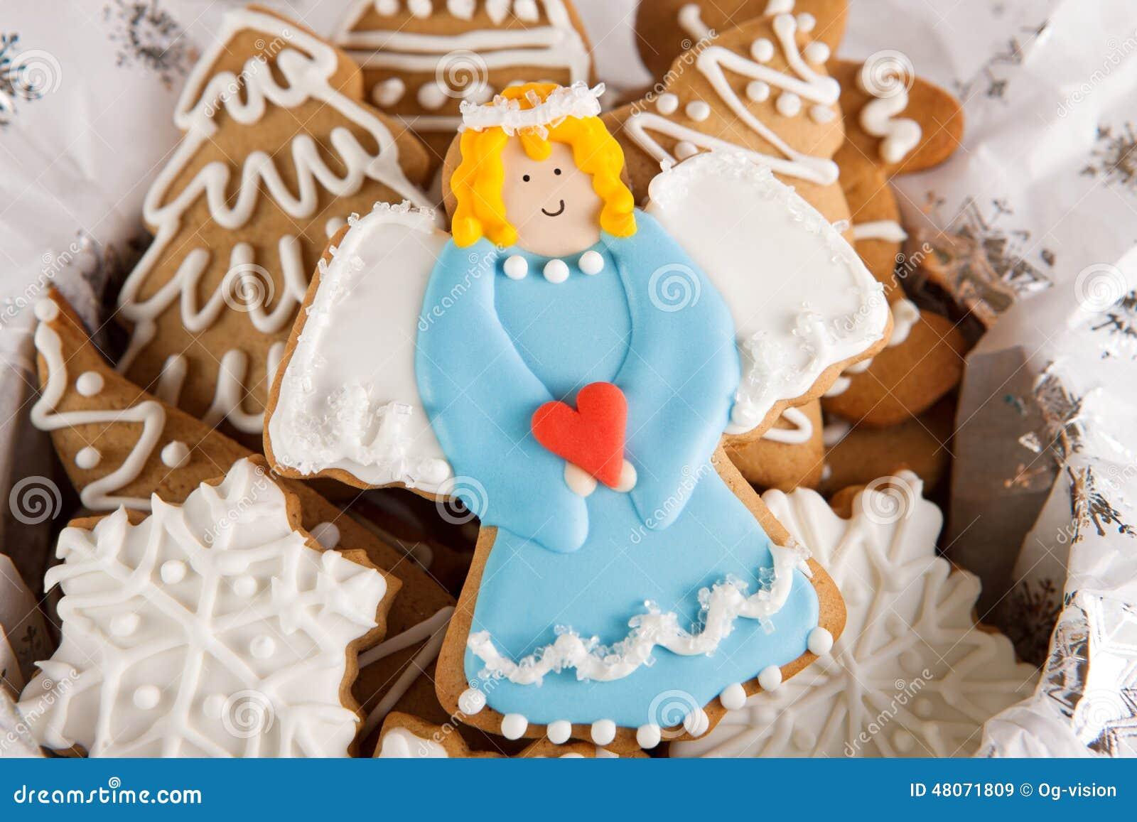 Angel Cookie Stock Image Image Of Cookies Cookie Sugar 48071809